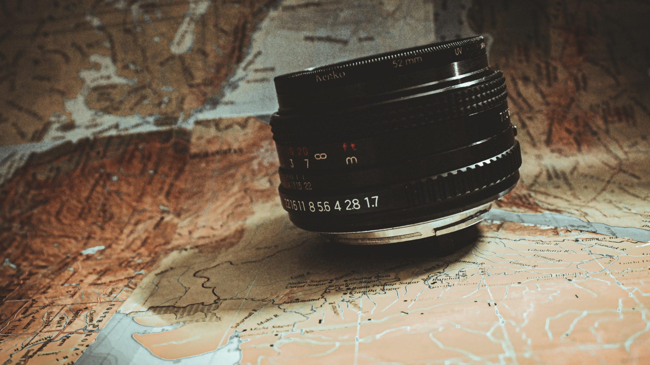 Lens of a camera