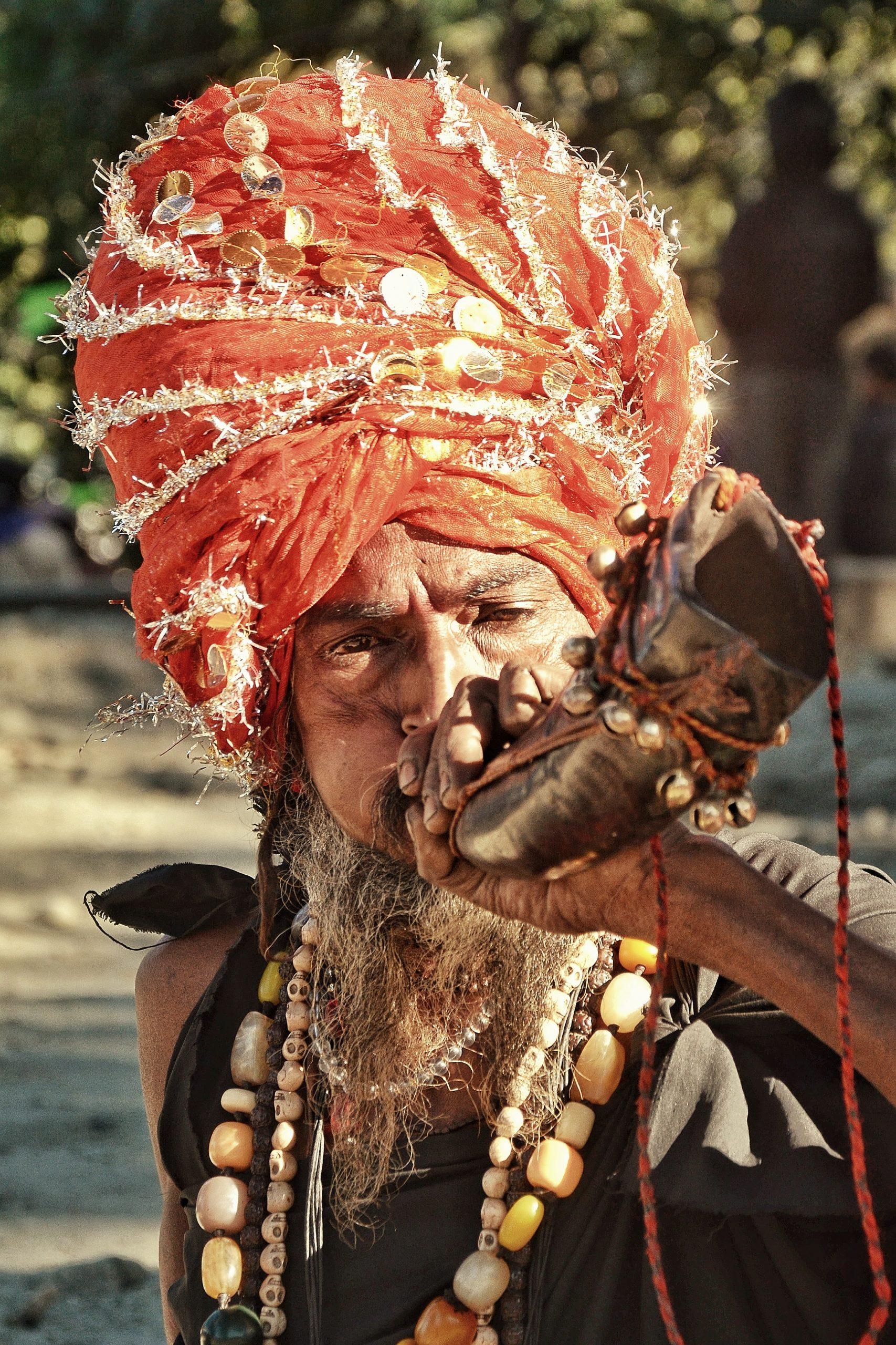 tribal man