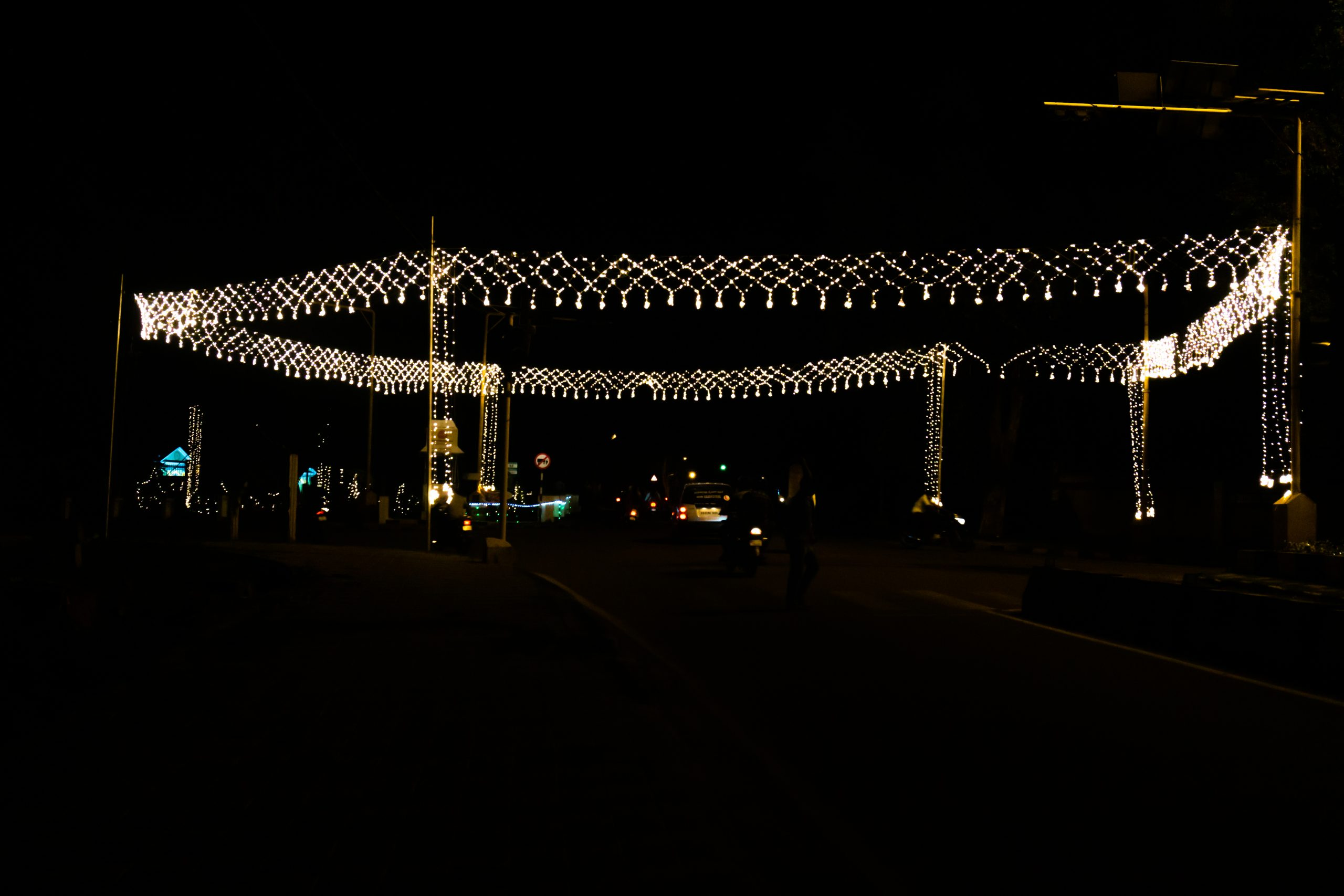 Lights illumination for Dussehra