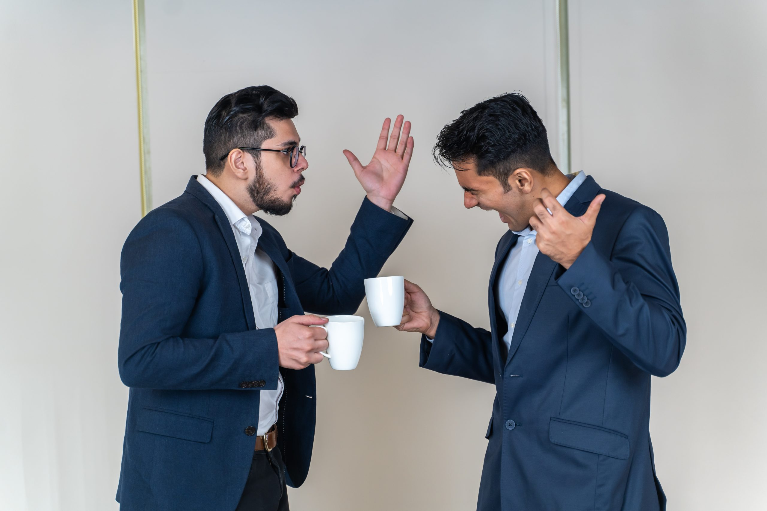 Manager shouting on employee