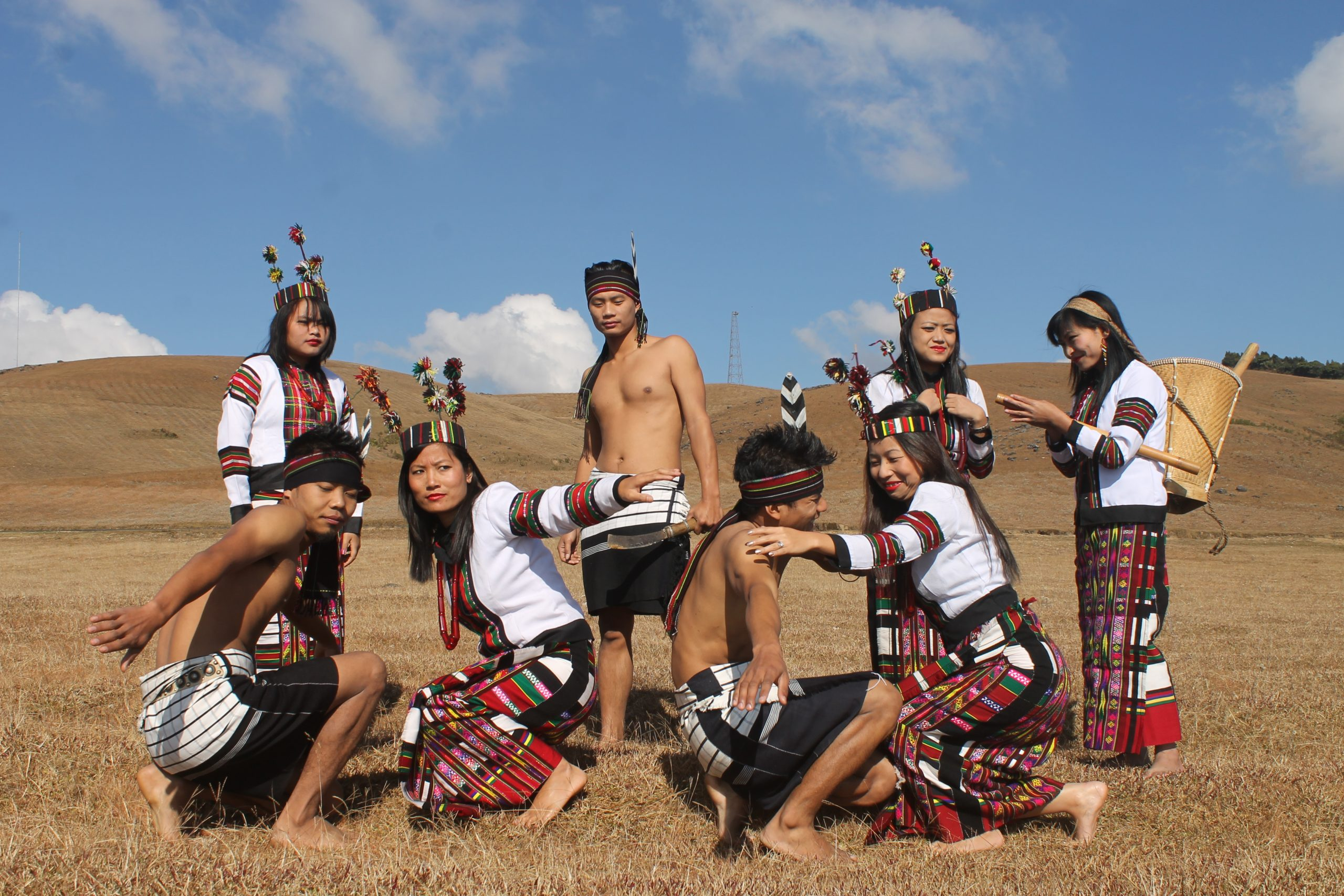 Tribe people in Northeast India