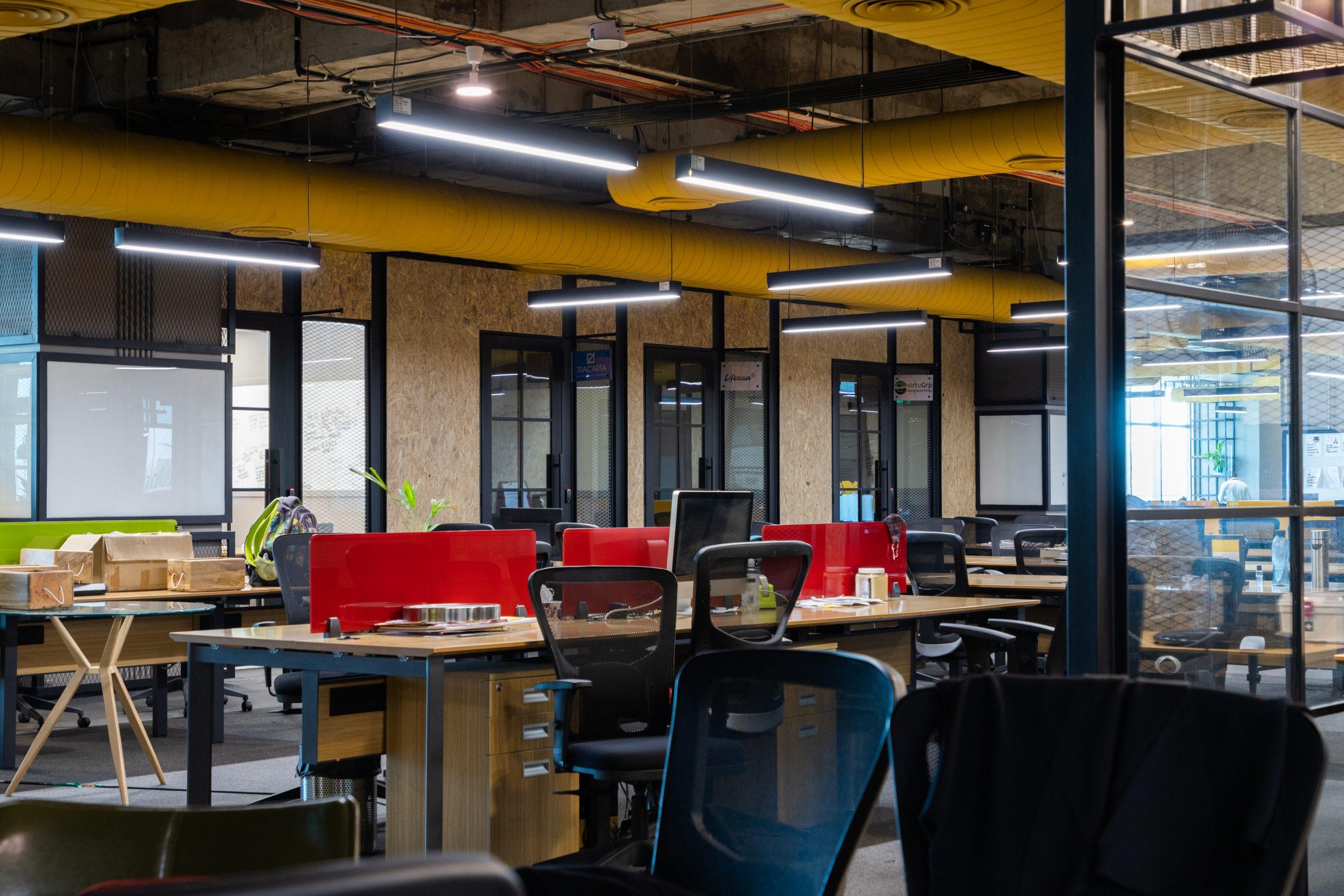 Modern looking office