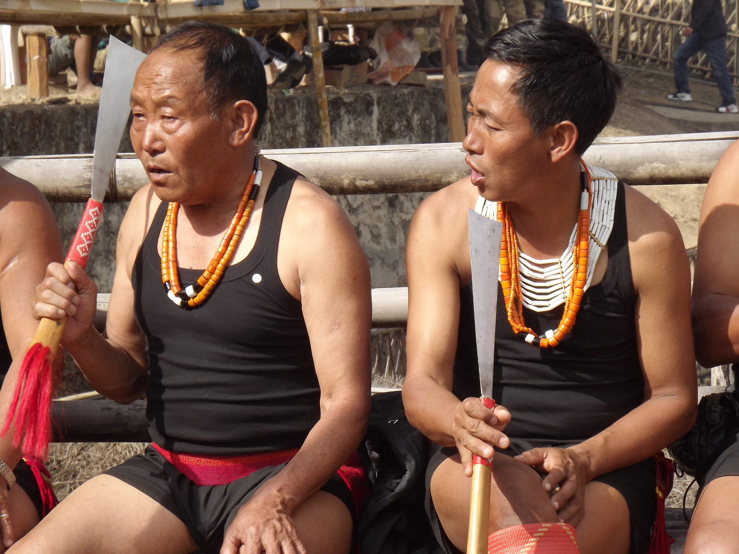 Naga Warriors with weapons