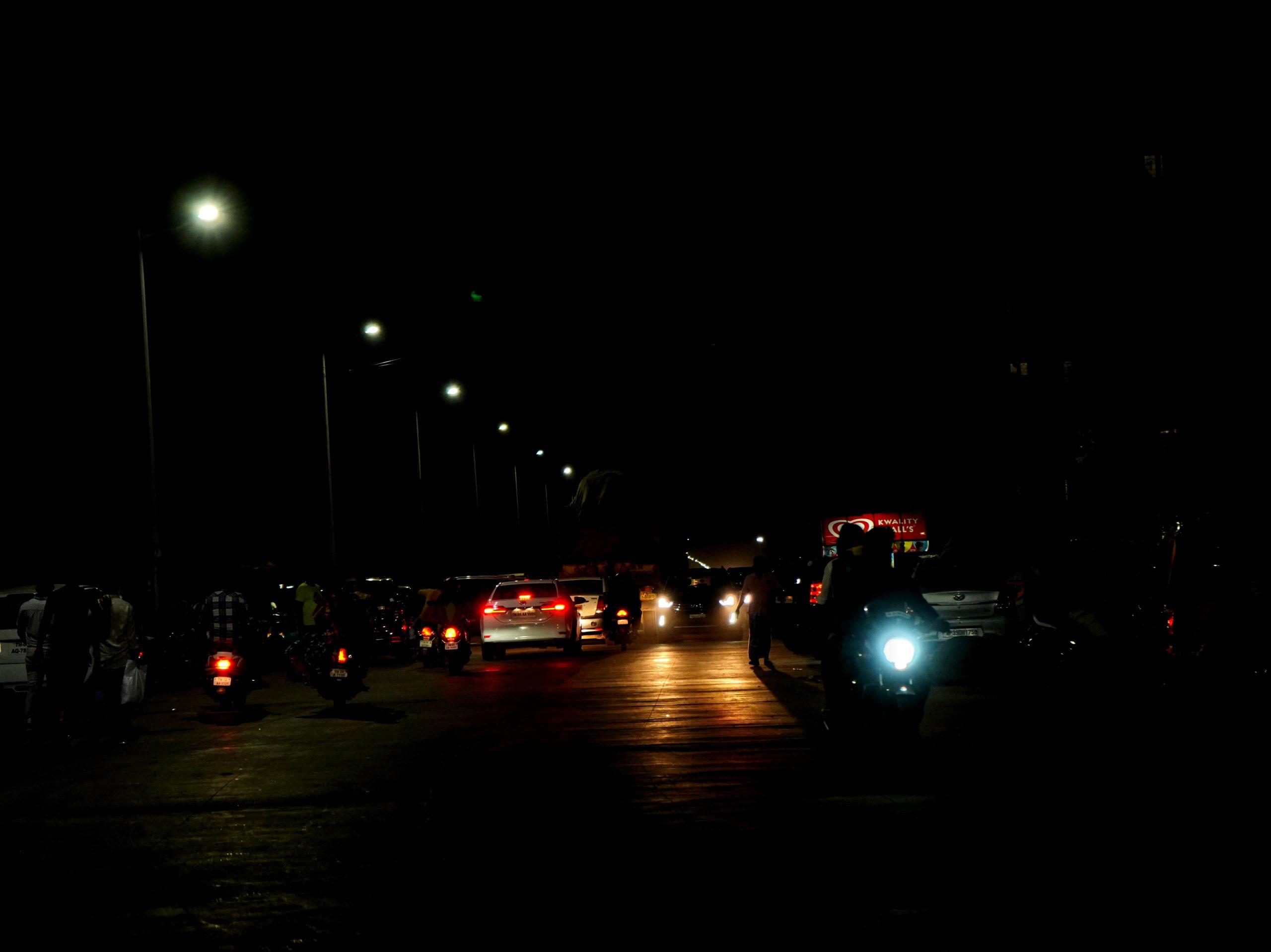 Traffic during night
