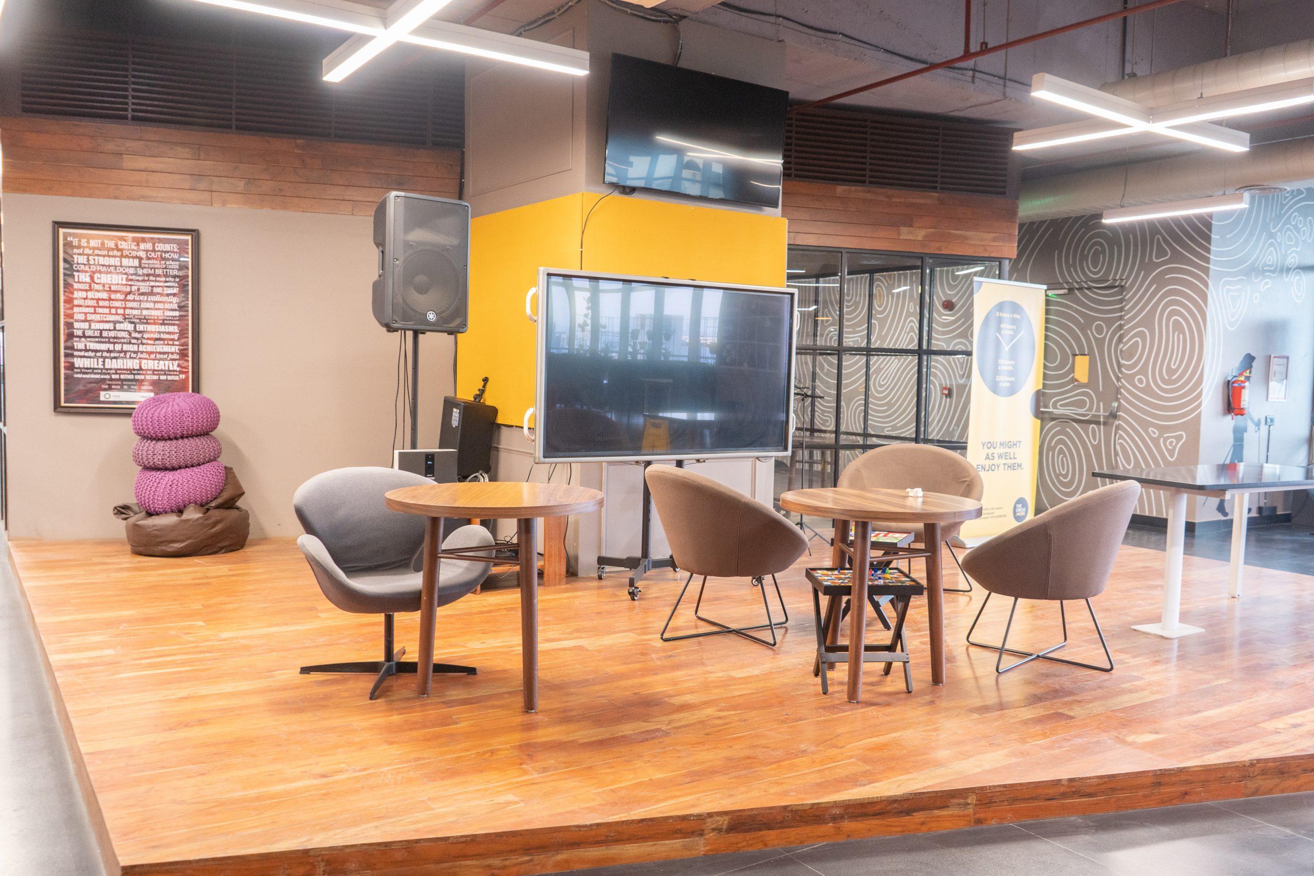 Office hangout place