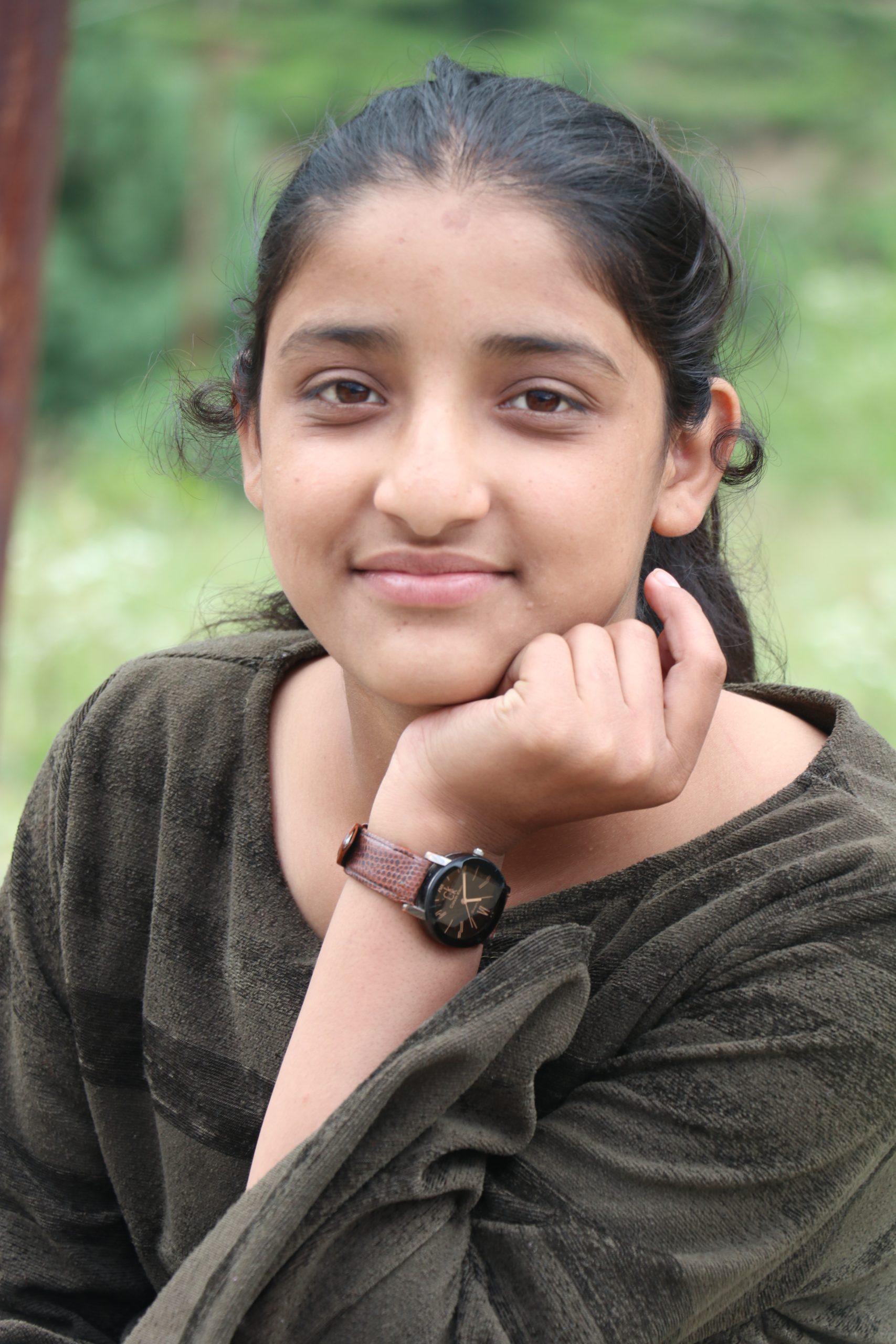 Portrait of a cute girl