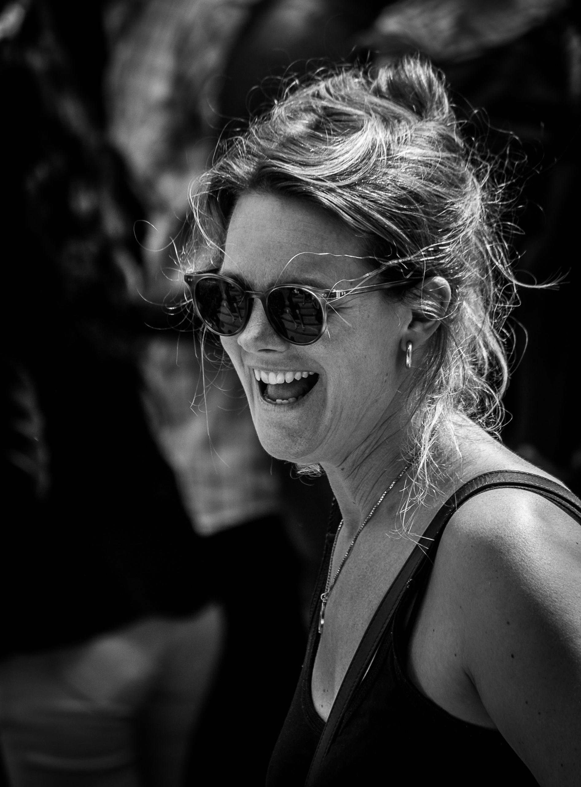 Portrait of a happy woman