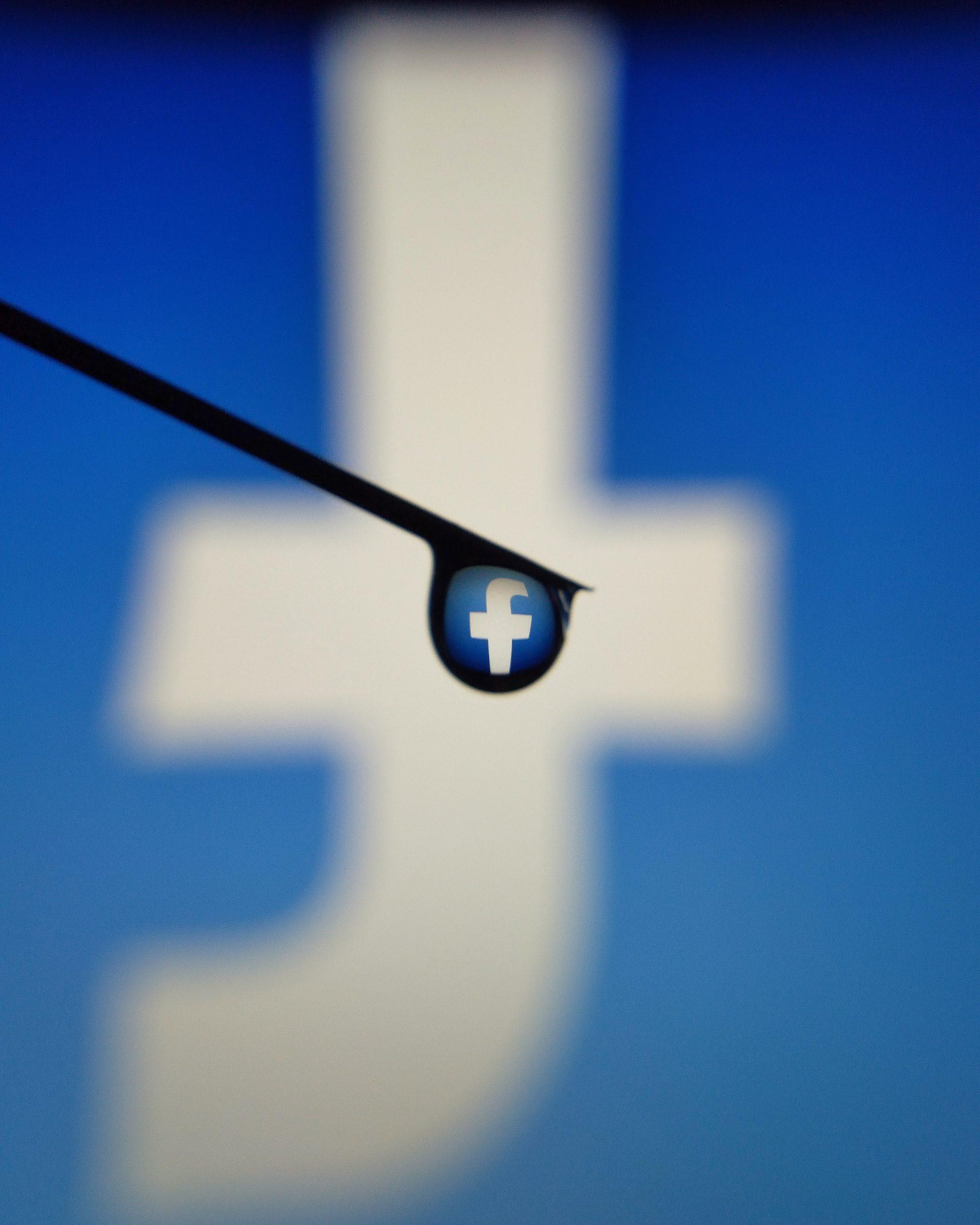 Logo of Facebook company