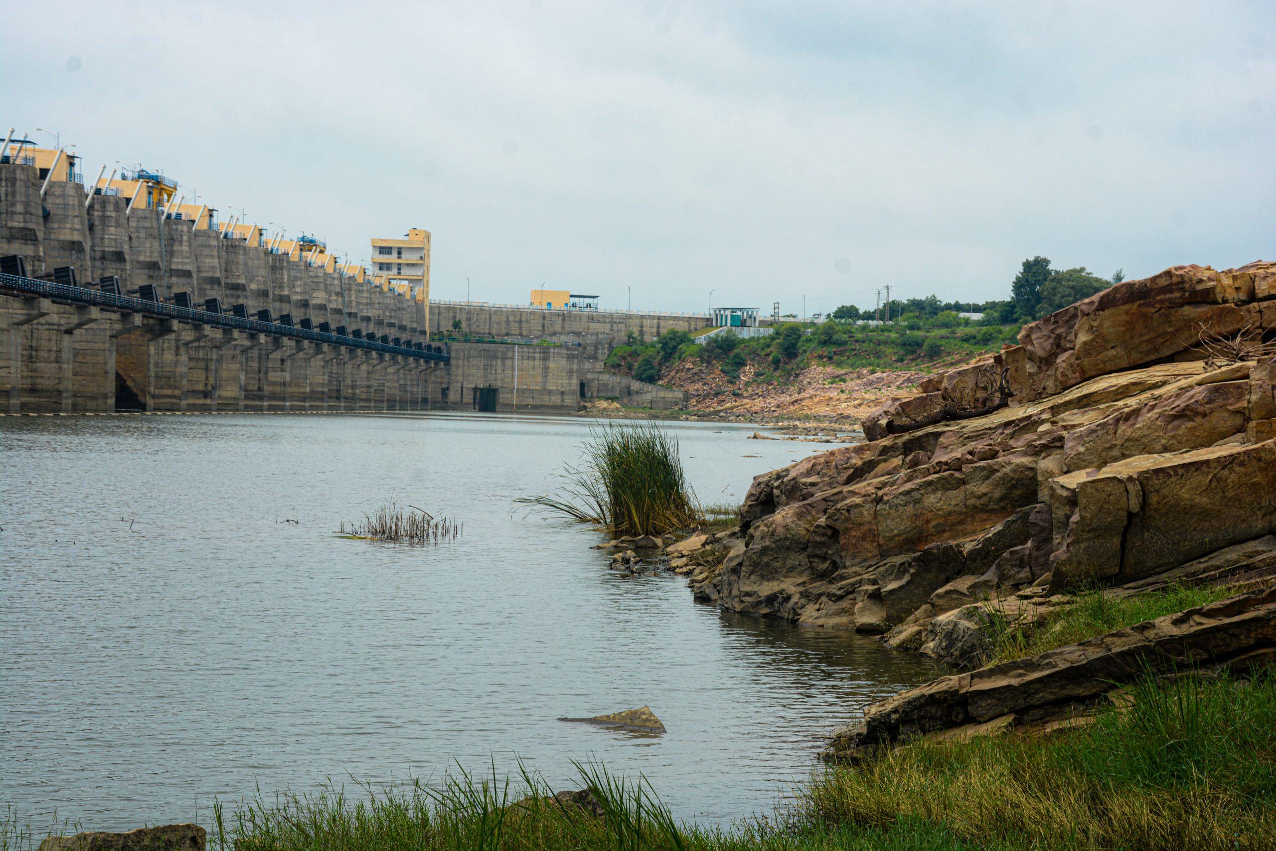 Reservoir of a dam