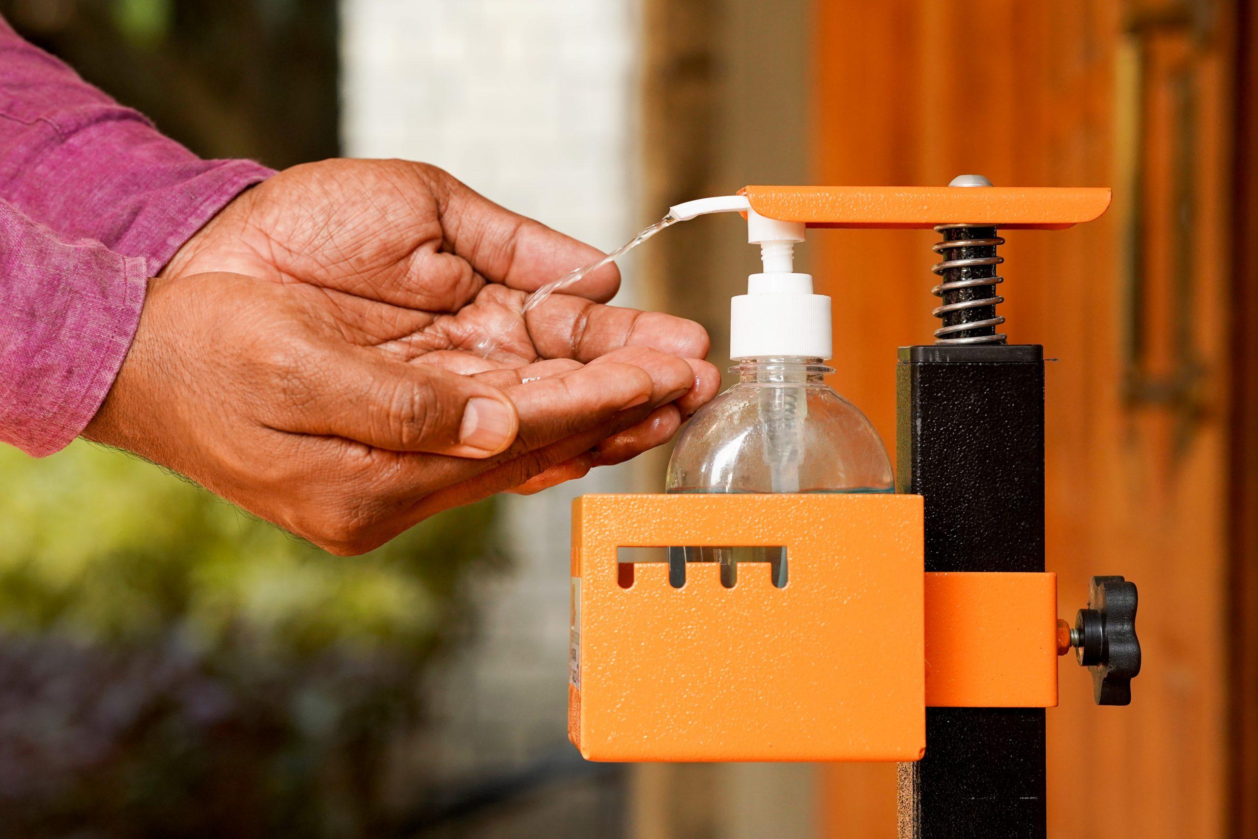 Sanitizer Dispenser