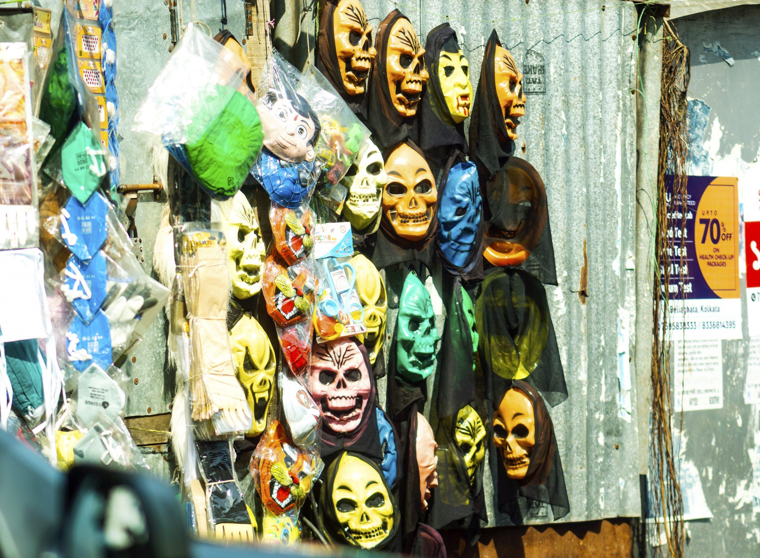 scary masks