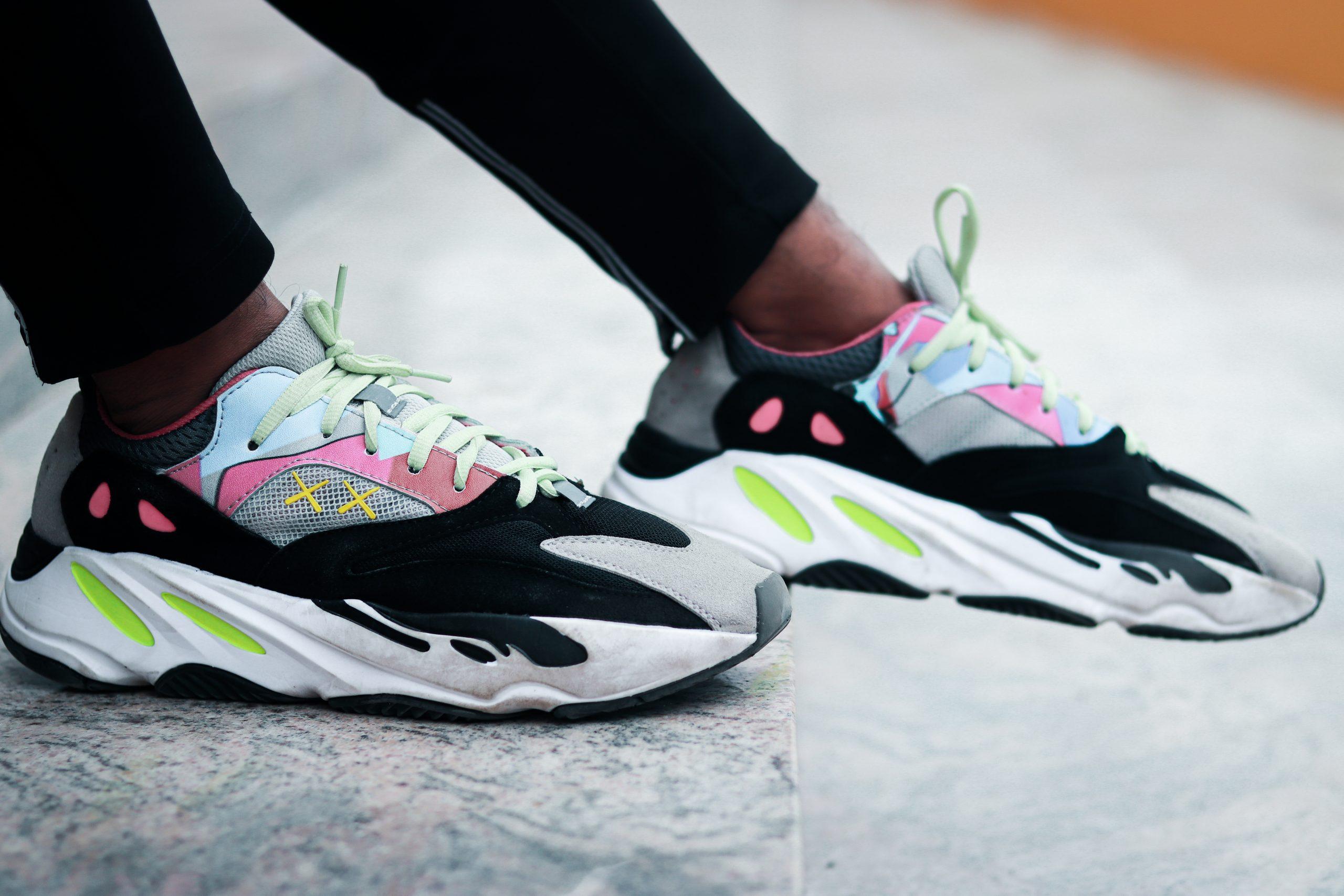 Adidas hybrid sneakers.