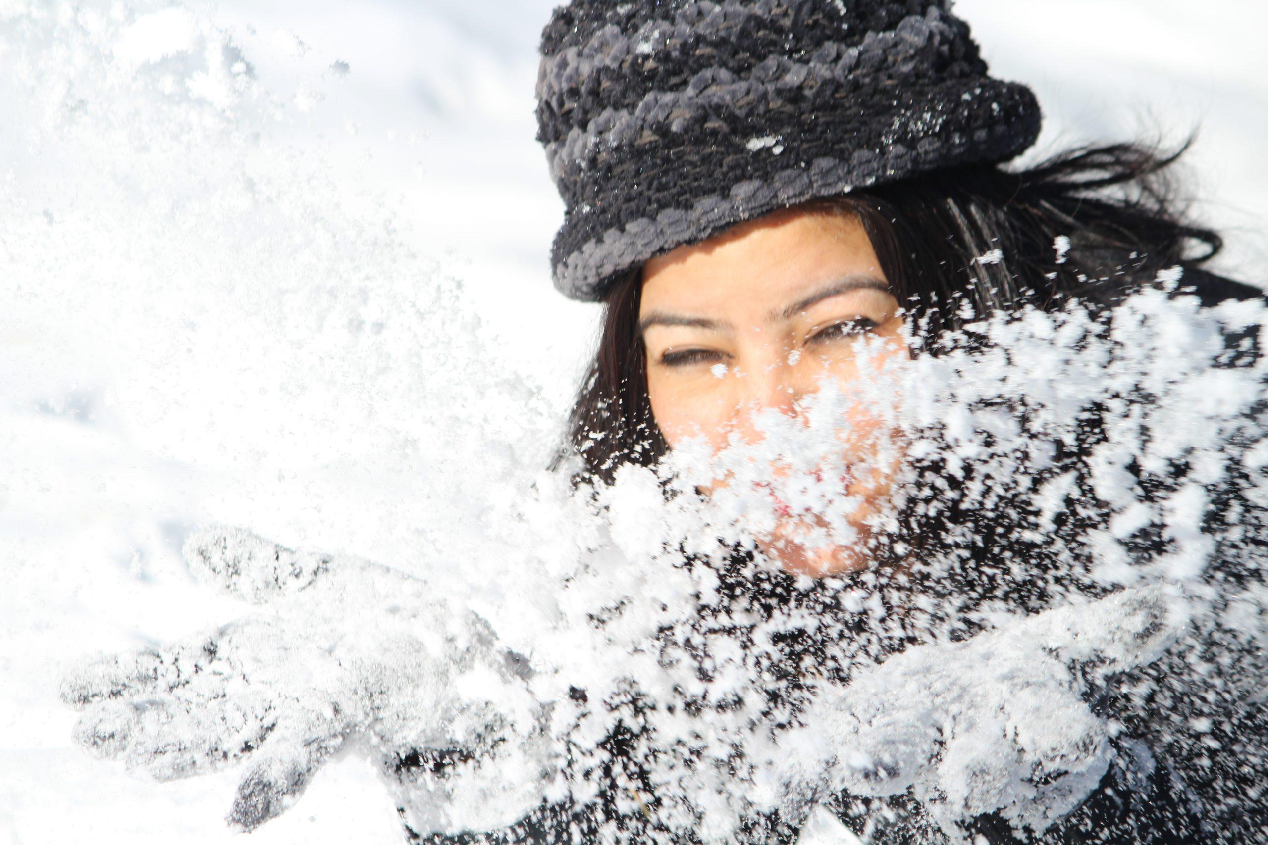 Woman & Snow