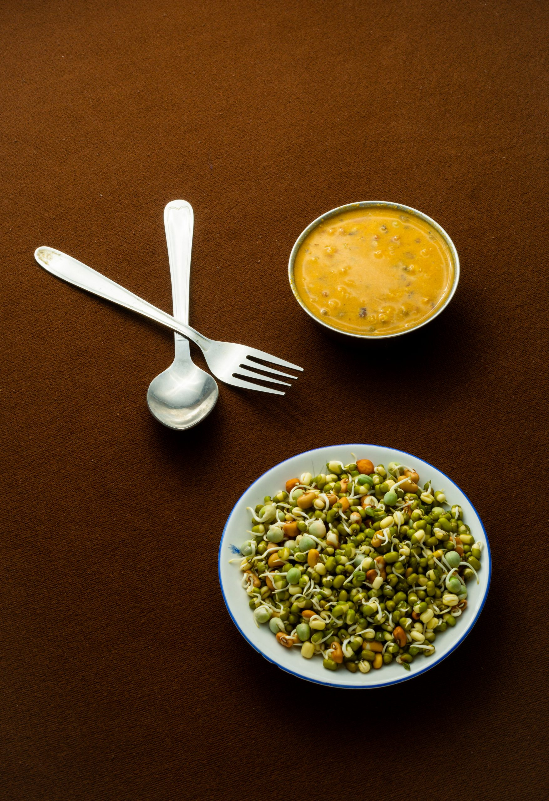 sprouts and curry
