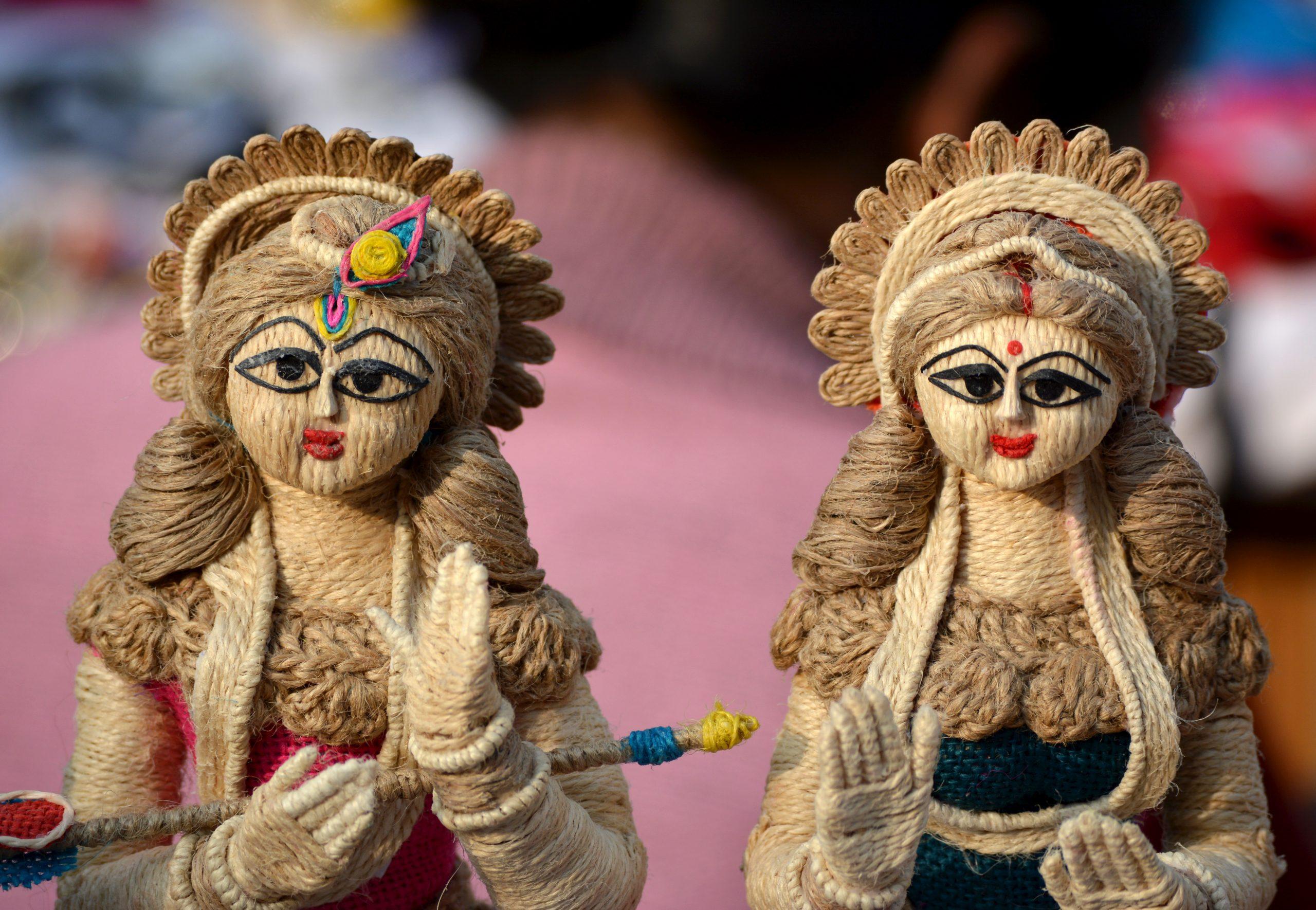 Statue of Hindu goddess
