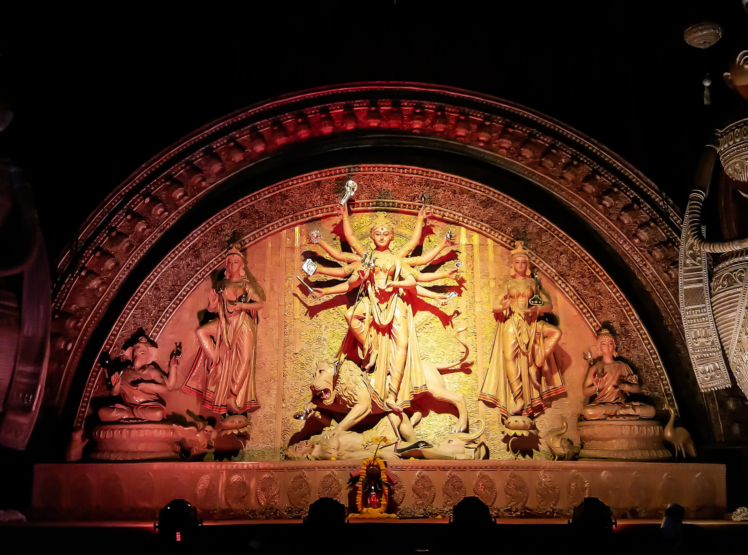 Statues of goddess Durga