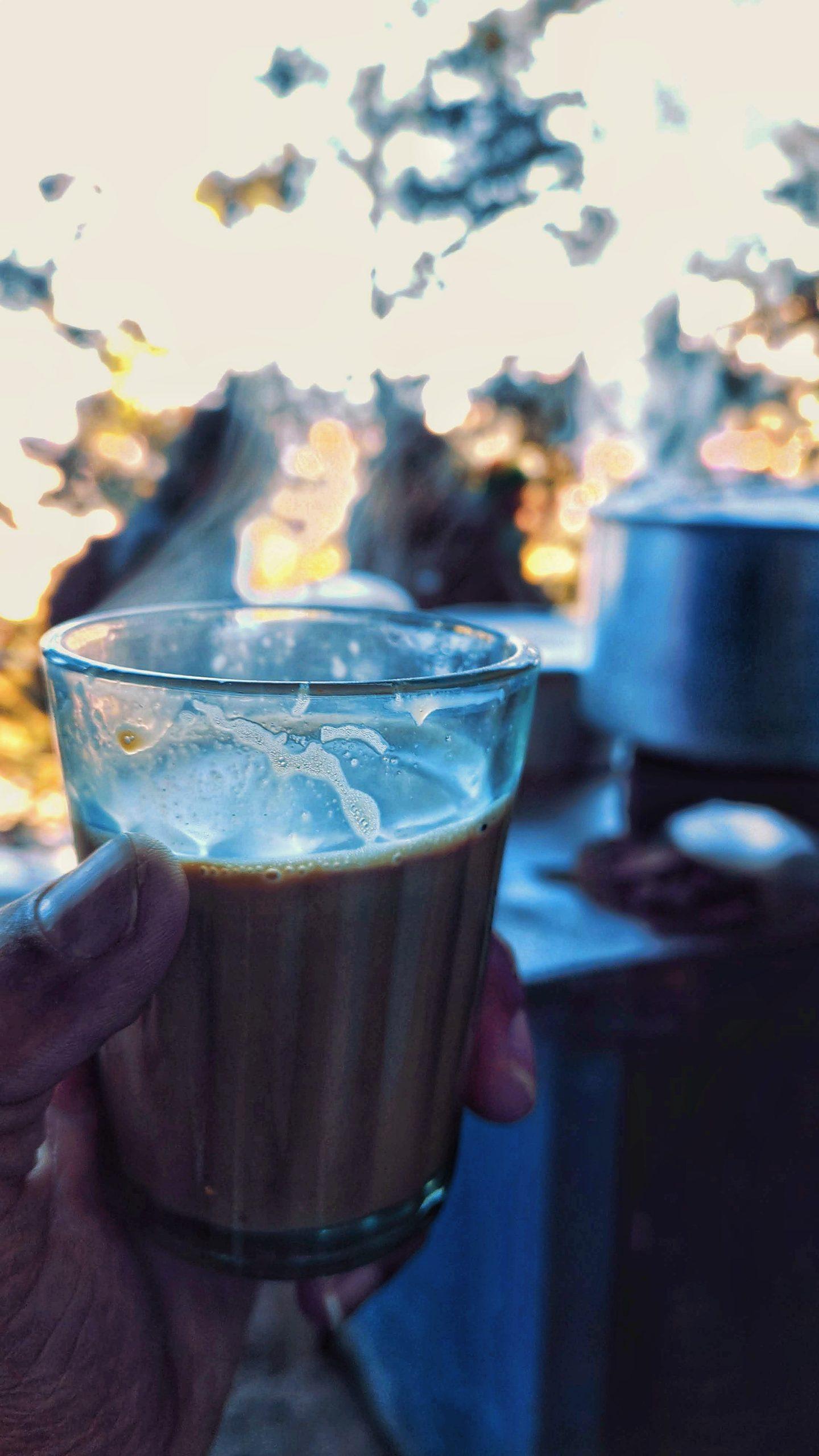 Street cup of tea