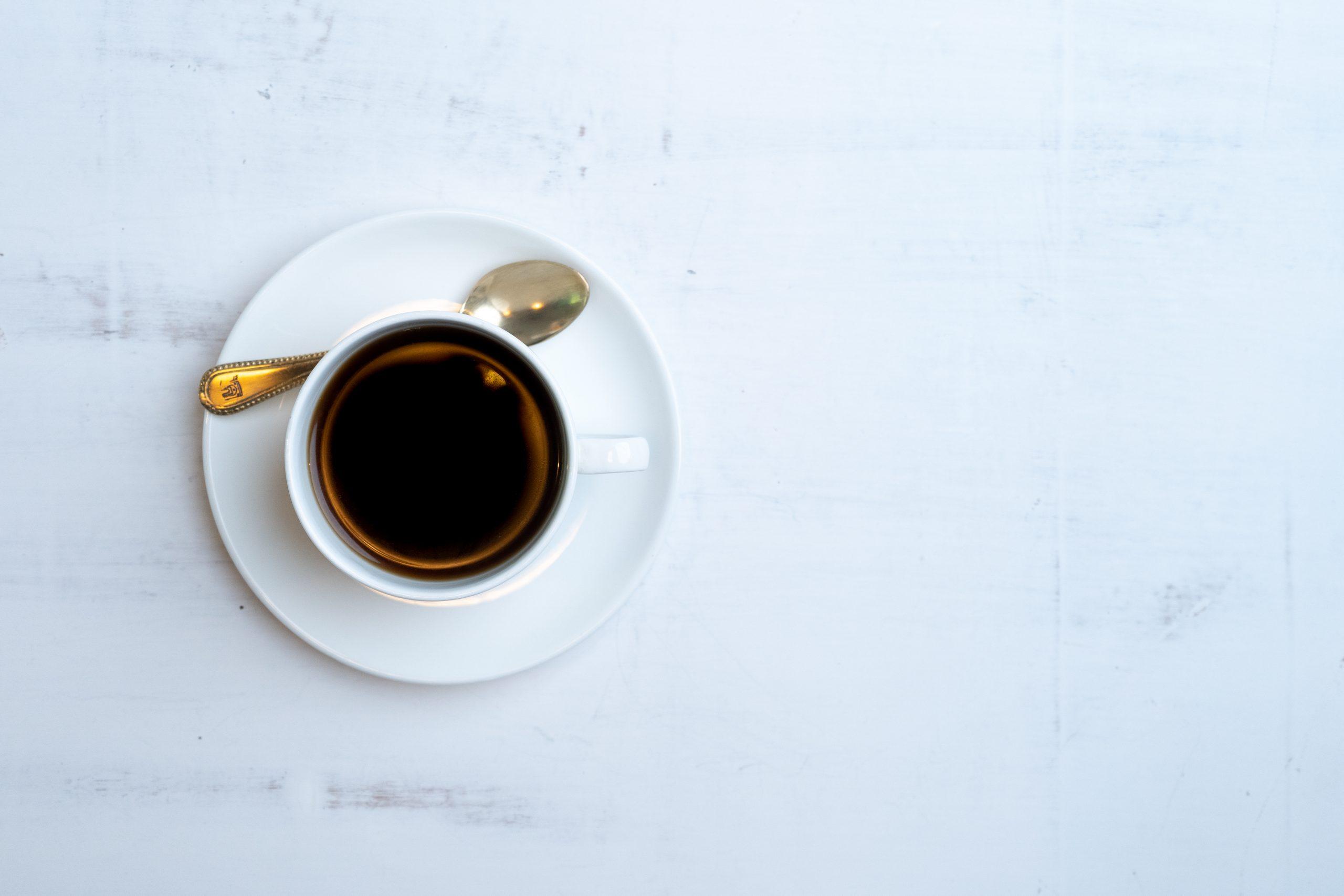 Tea cup flatlay