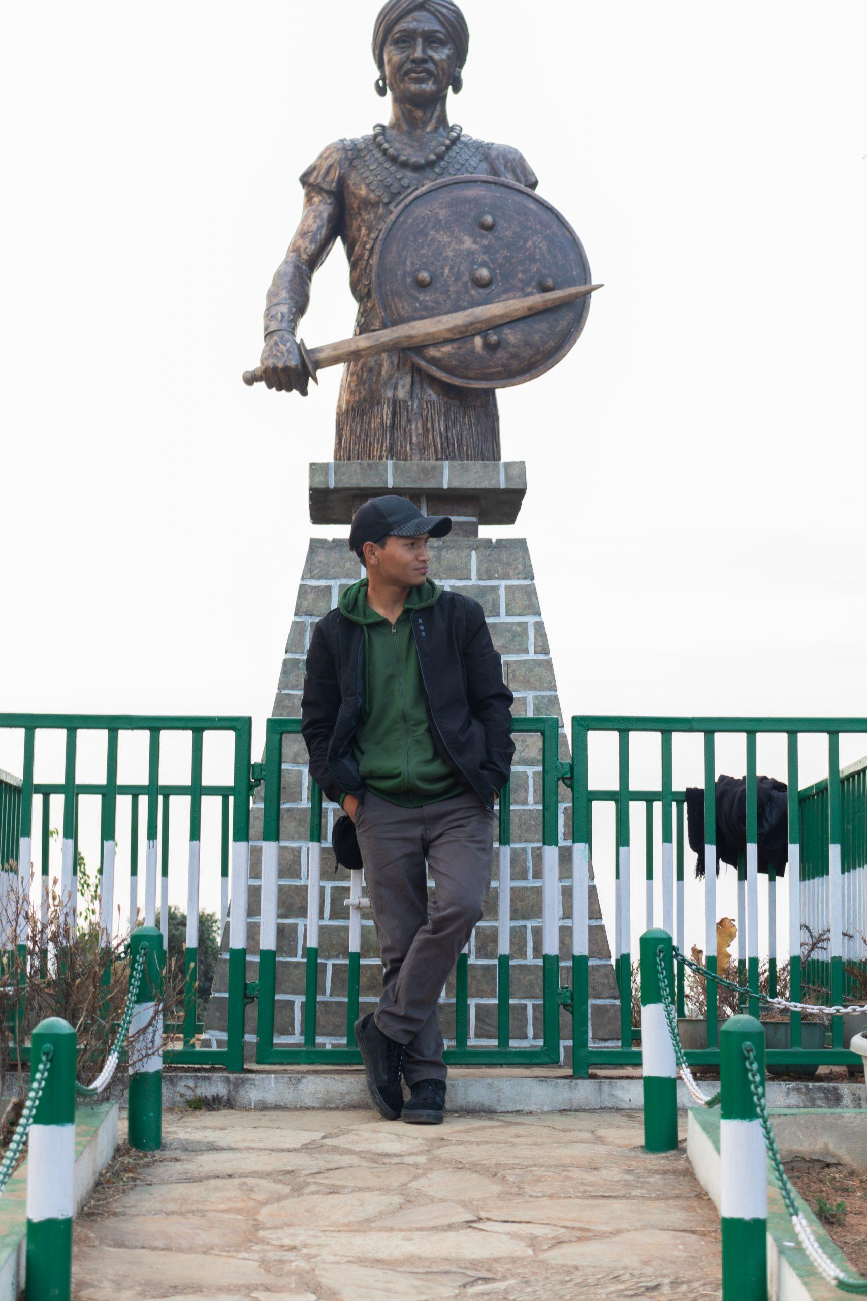 Tirot Singh the Tribal Statue