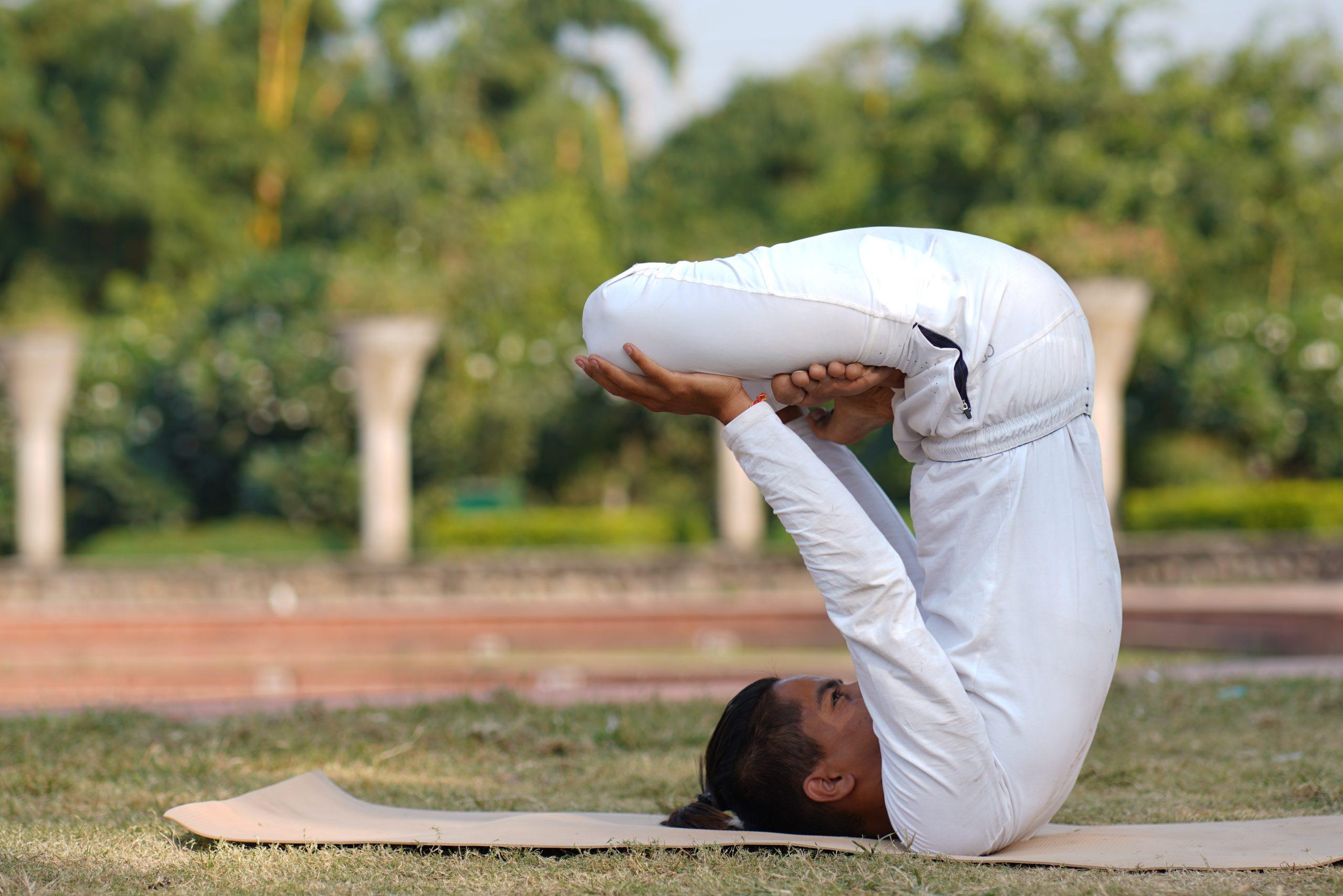 Upward Lotus Pose (Urdhva Padmasana