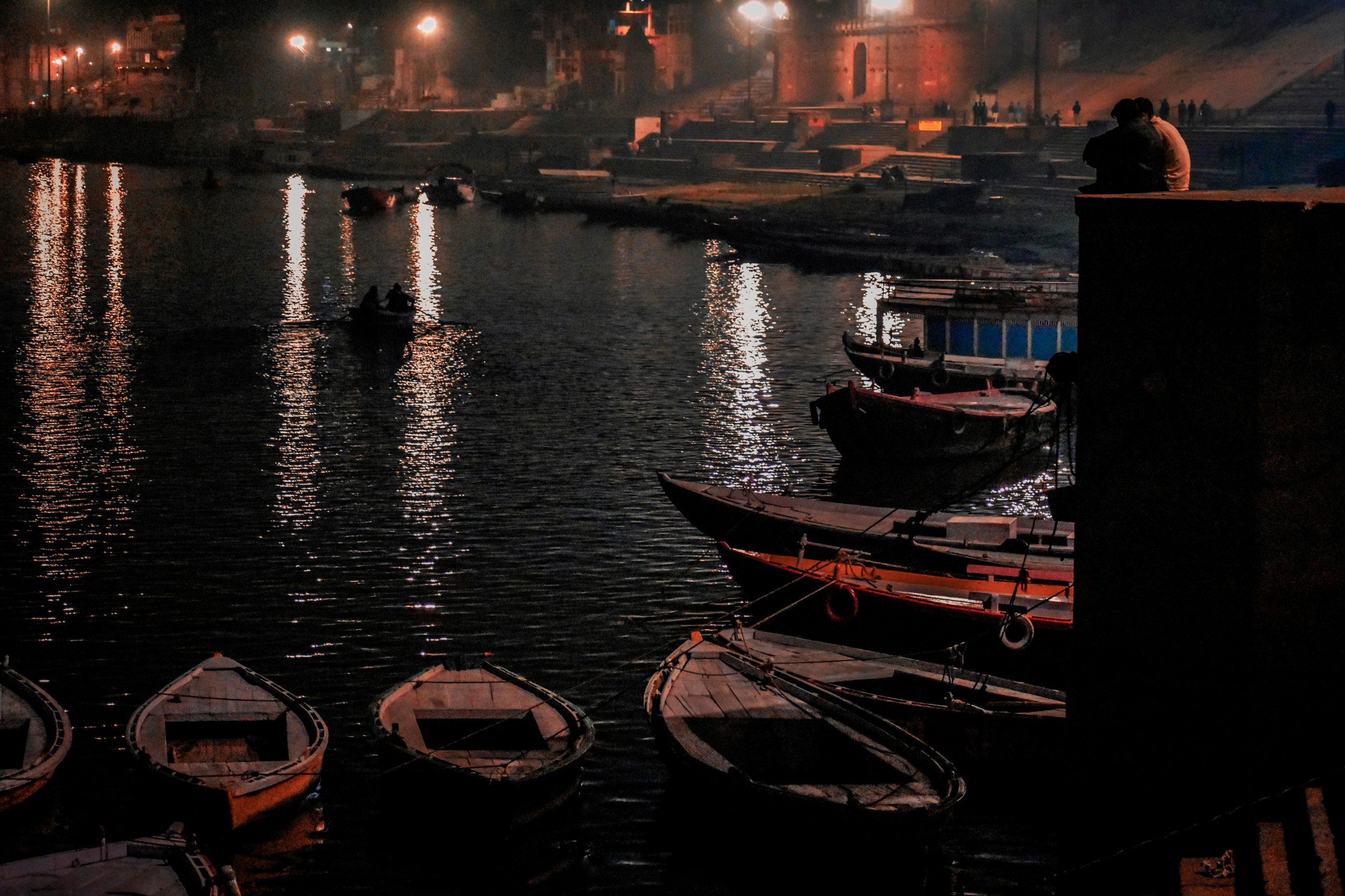 River Bank & Boat