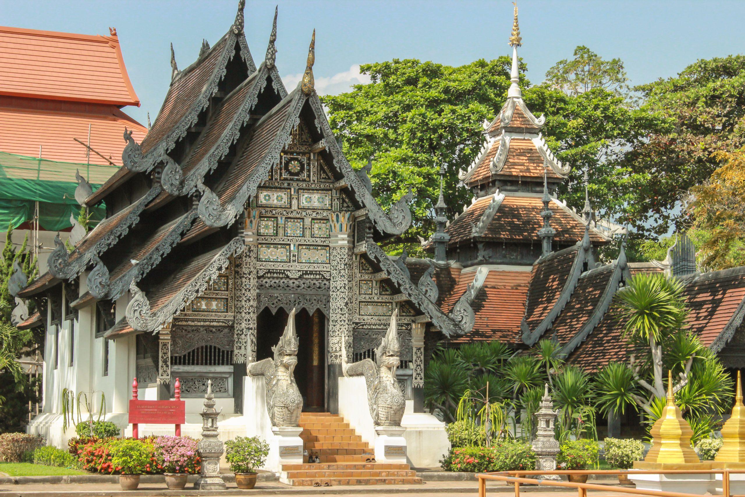 Venerable Acharn Mun Bhuridatto Viharn in Chiang Mai