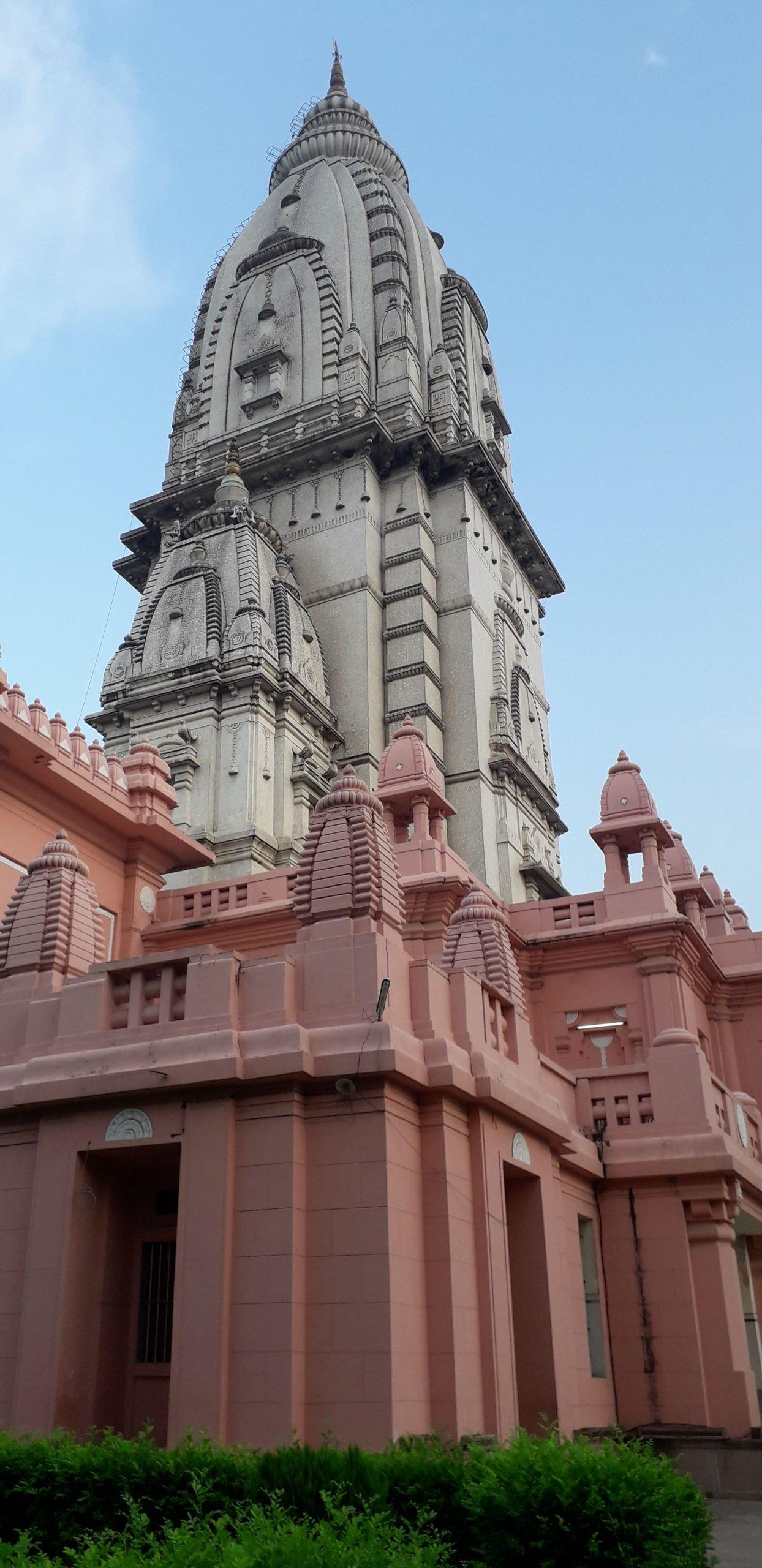 Beautifully made Vishwanath temple.