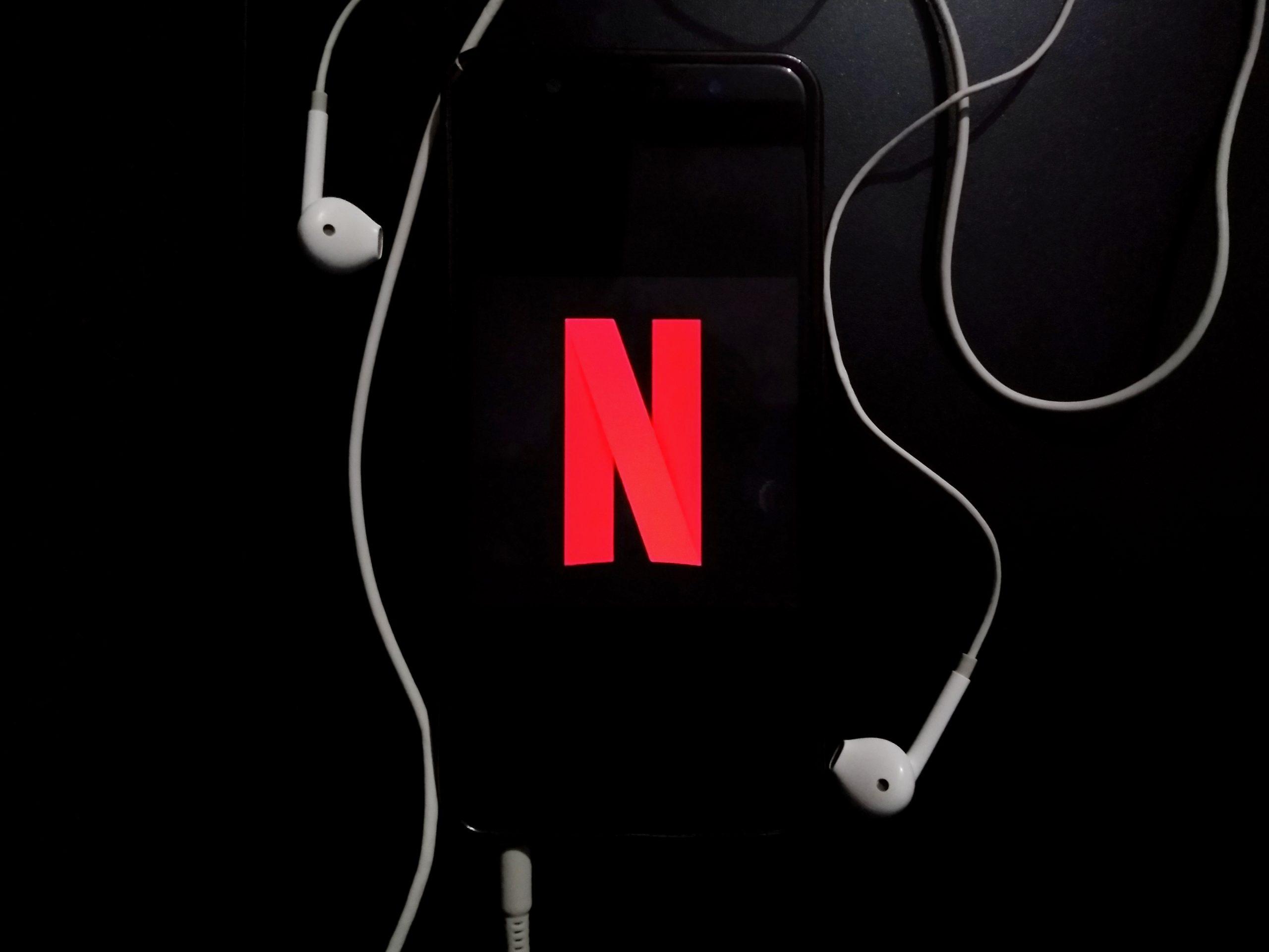 Watching movies on Netflix
