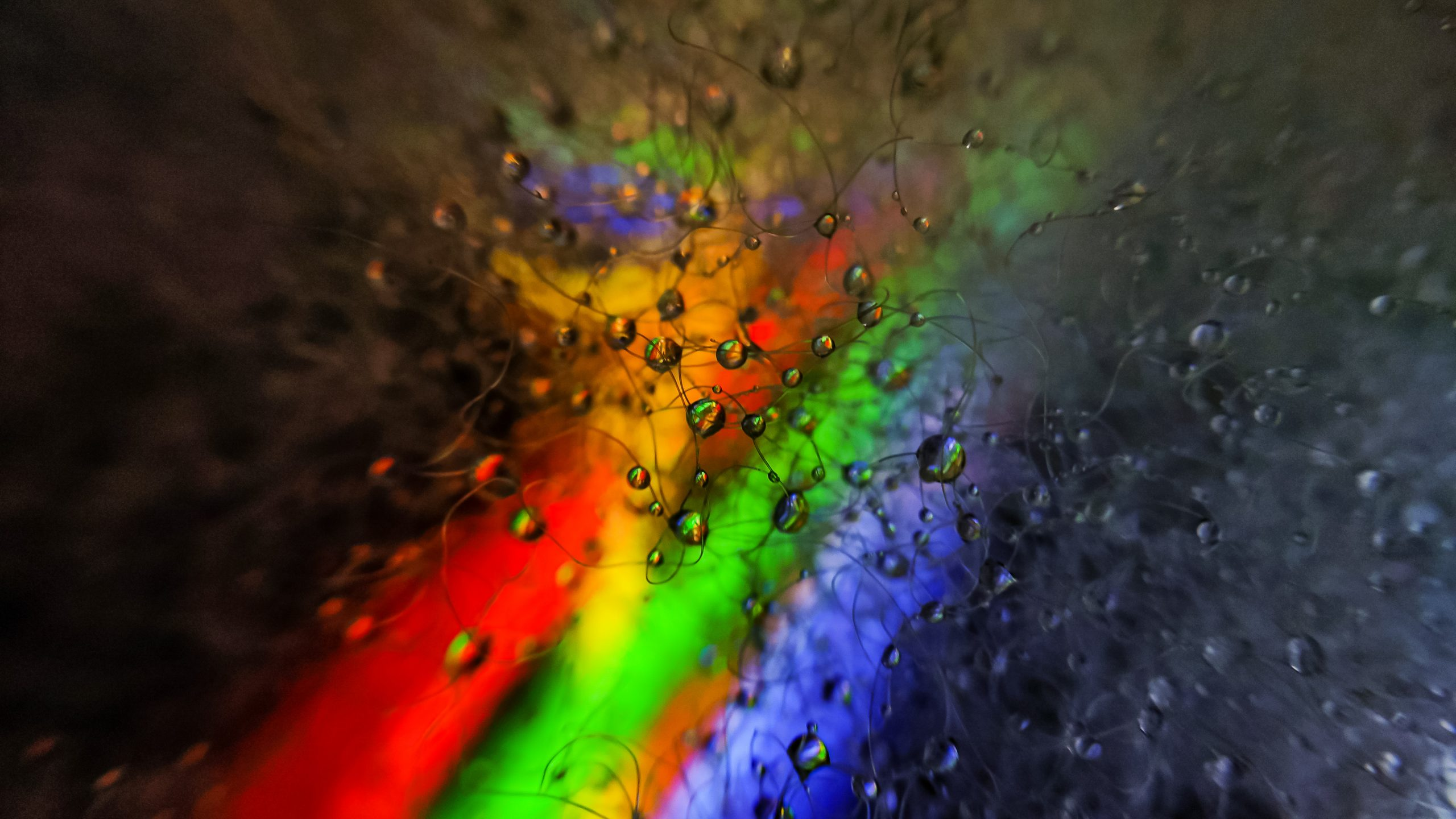 Water Drop on Fiber sheet