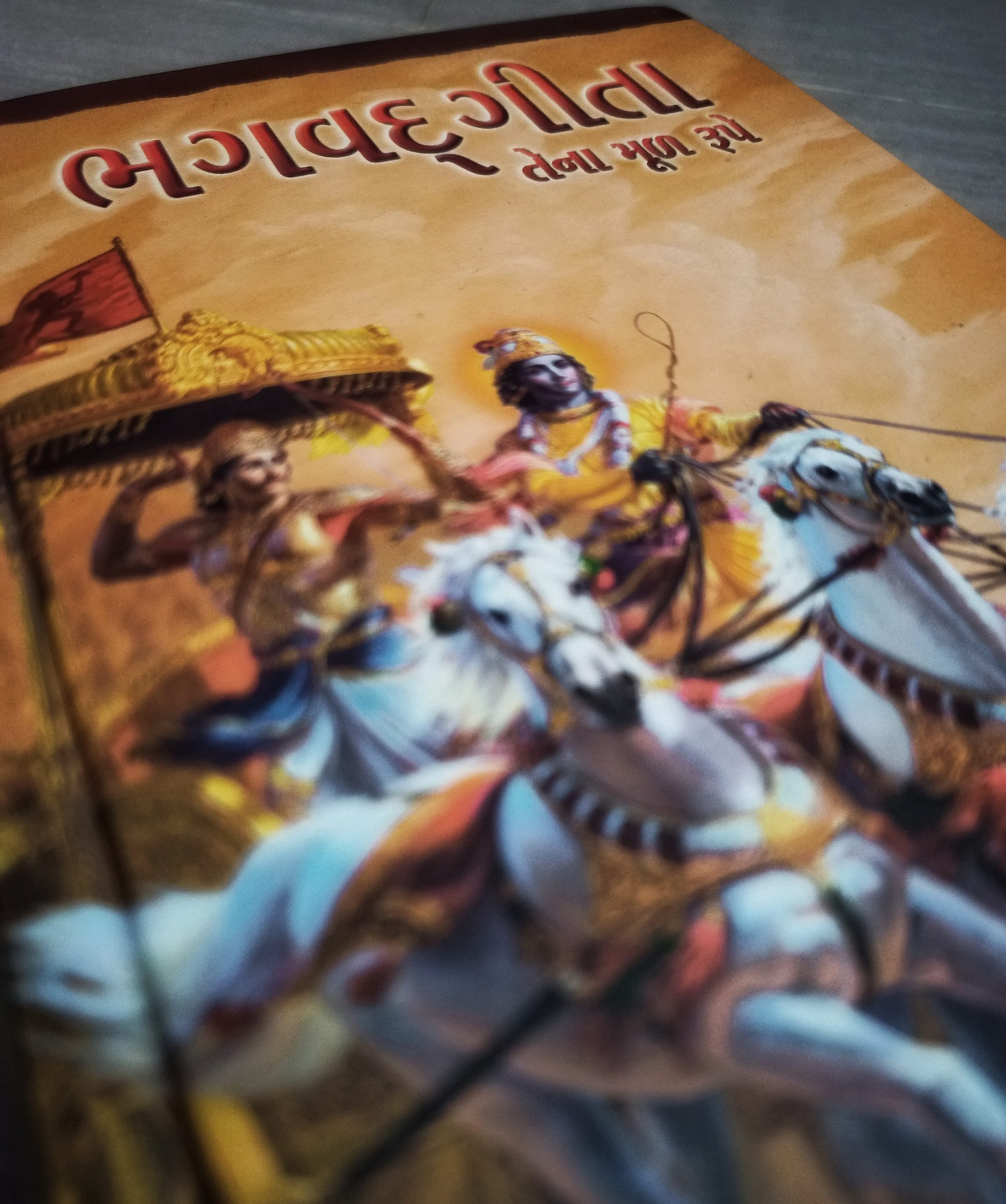 Cover photo of Holy Geeta