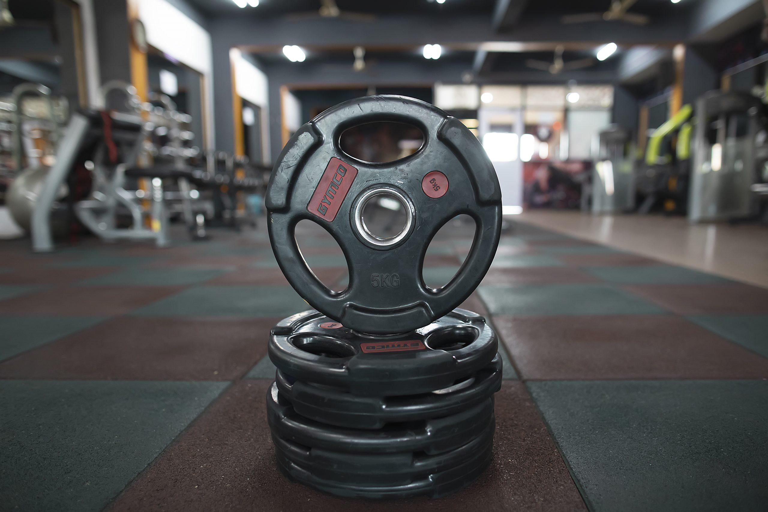 workout plates