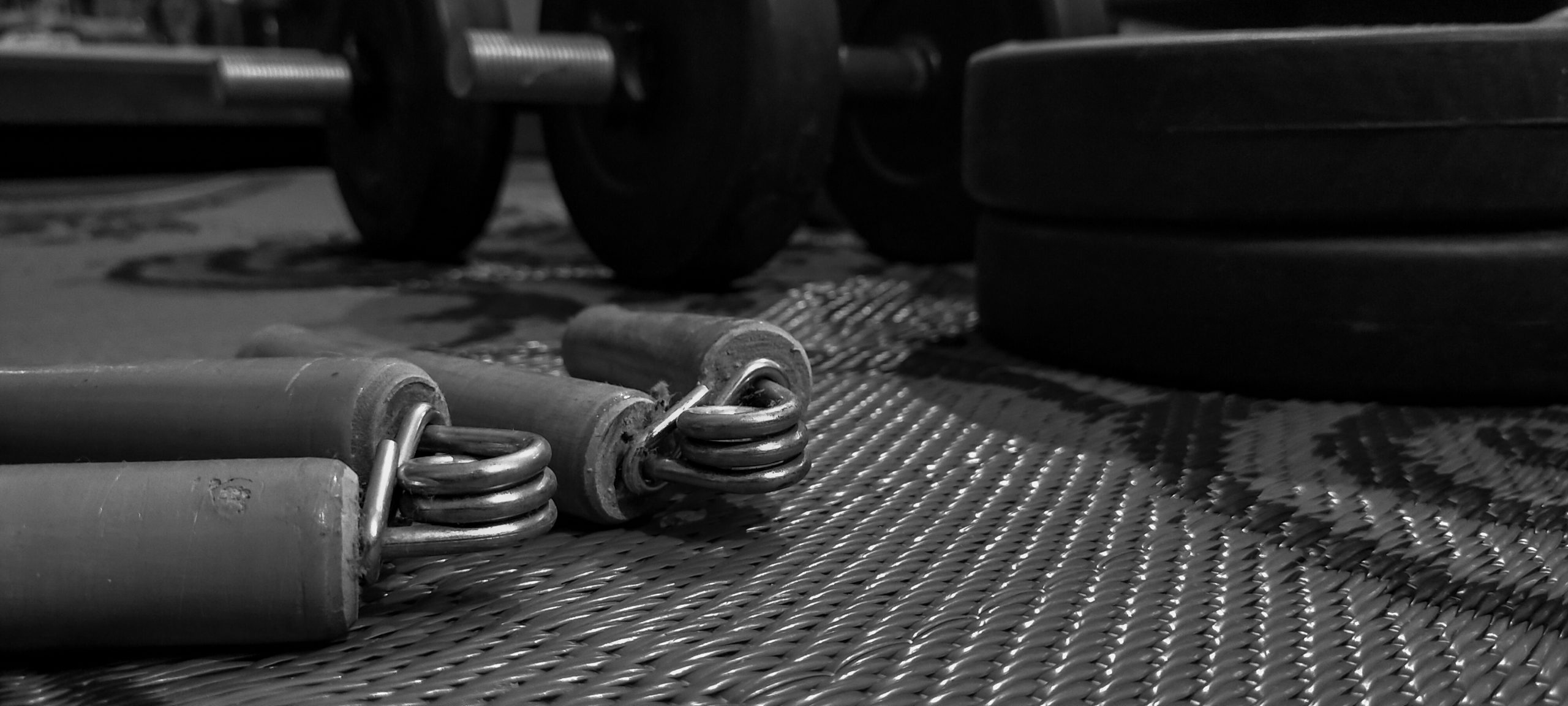 hand grips in a gym