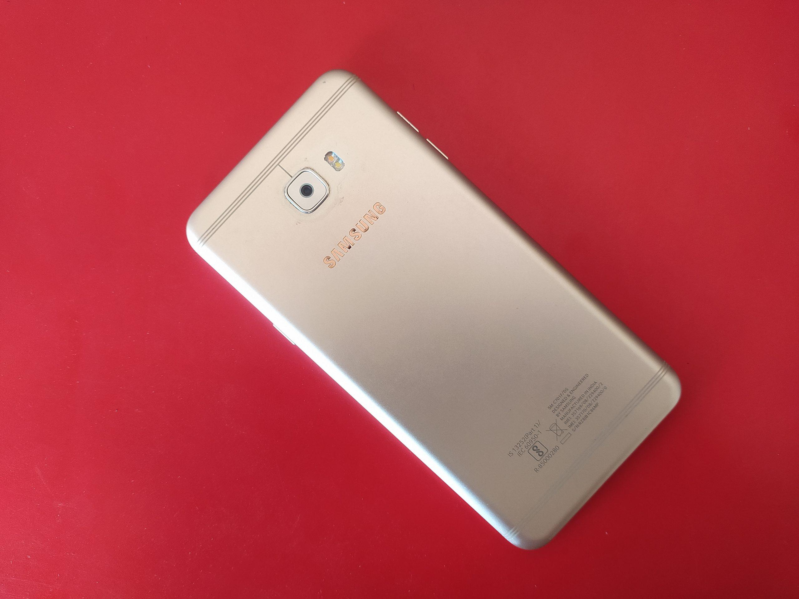 A Samsung phone