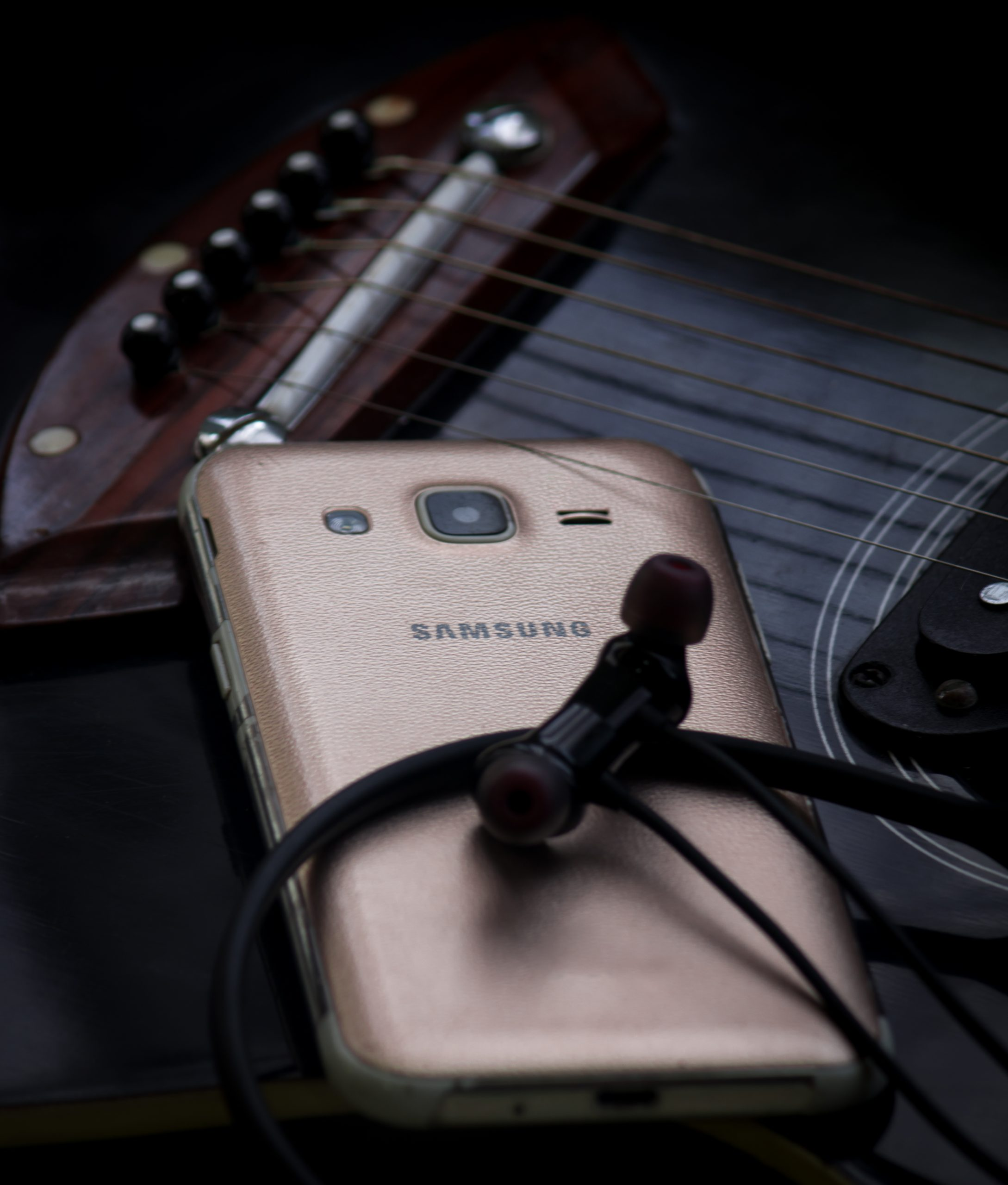 A Samsung smartphone