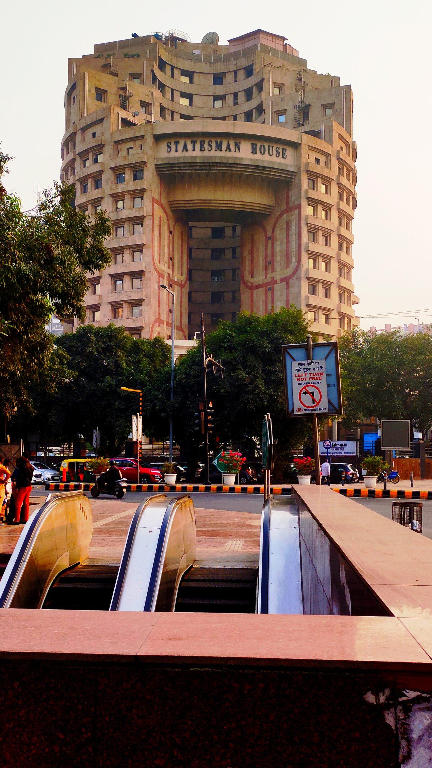 A building in Delhi