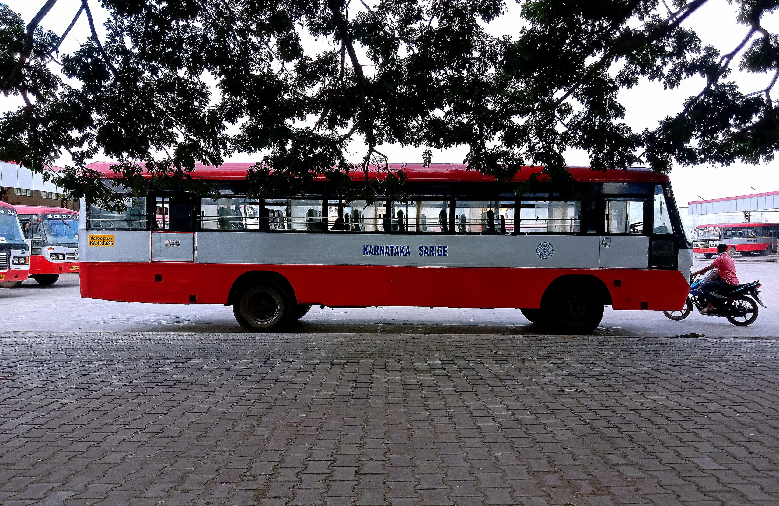 A bus stand