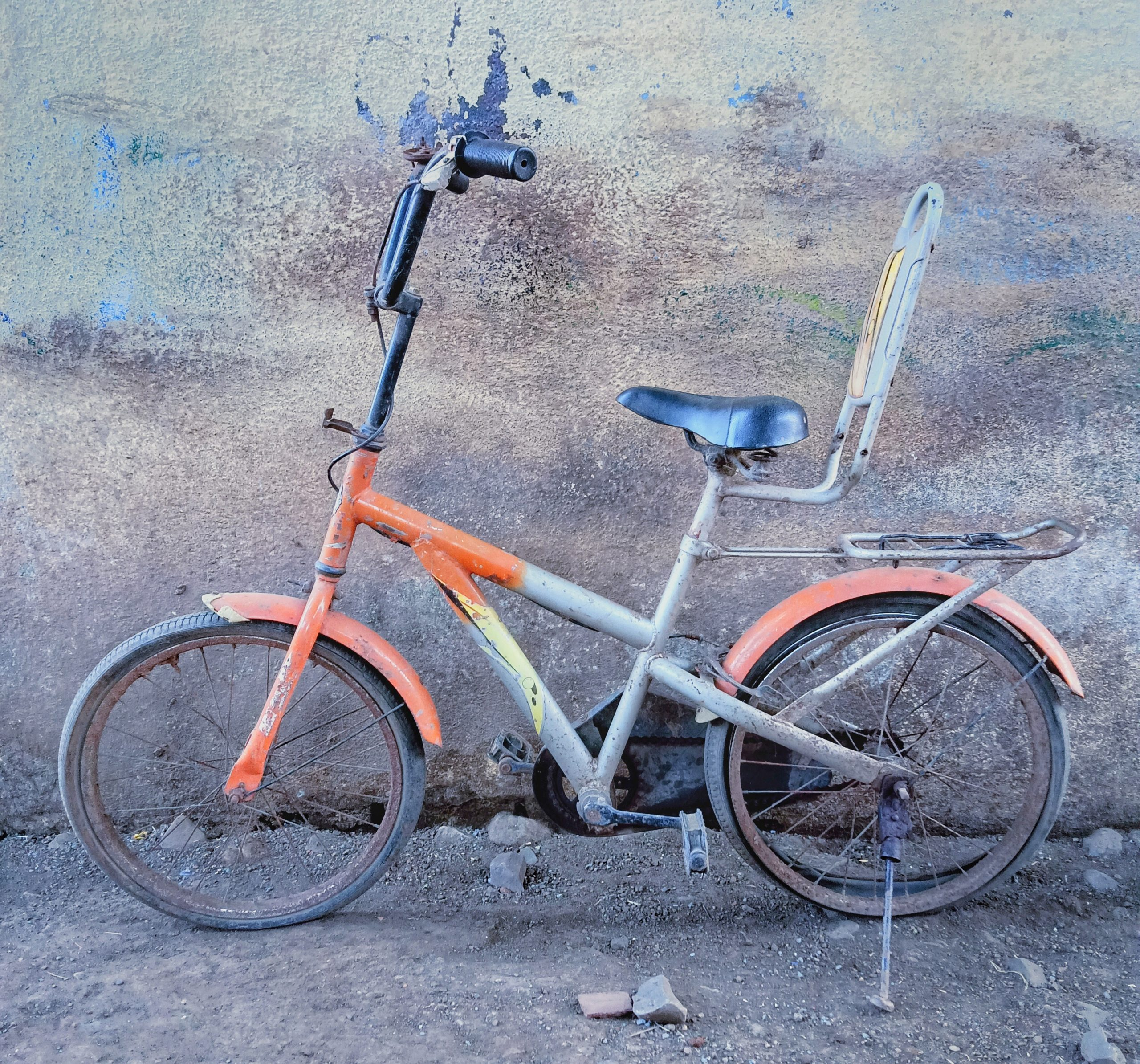 A kid's bicycle