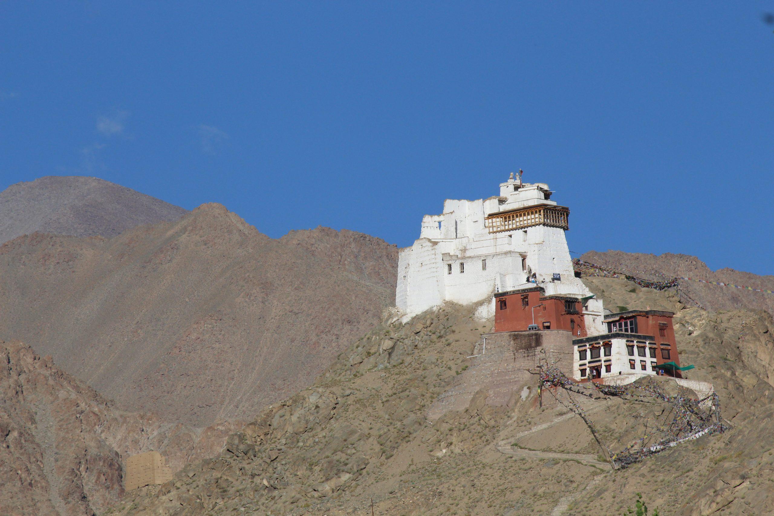 A monastery on mountain top