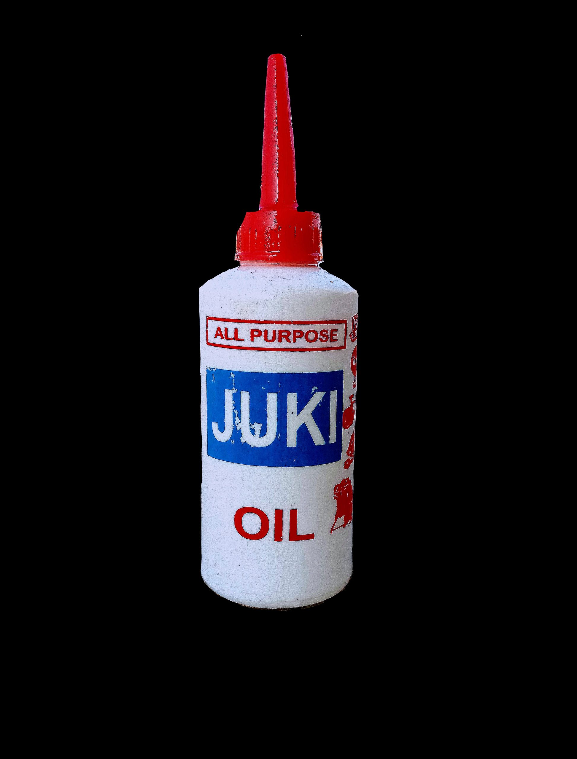 A oil can