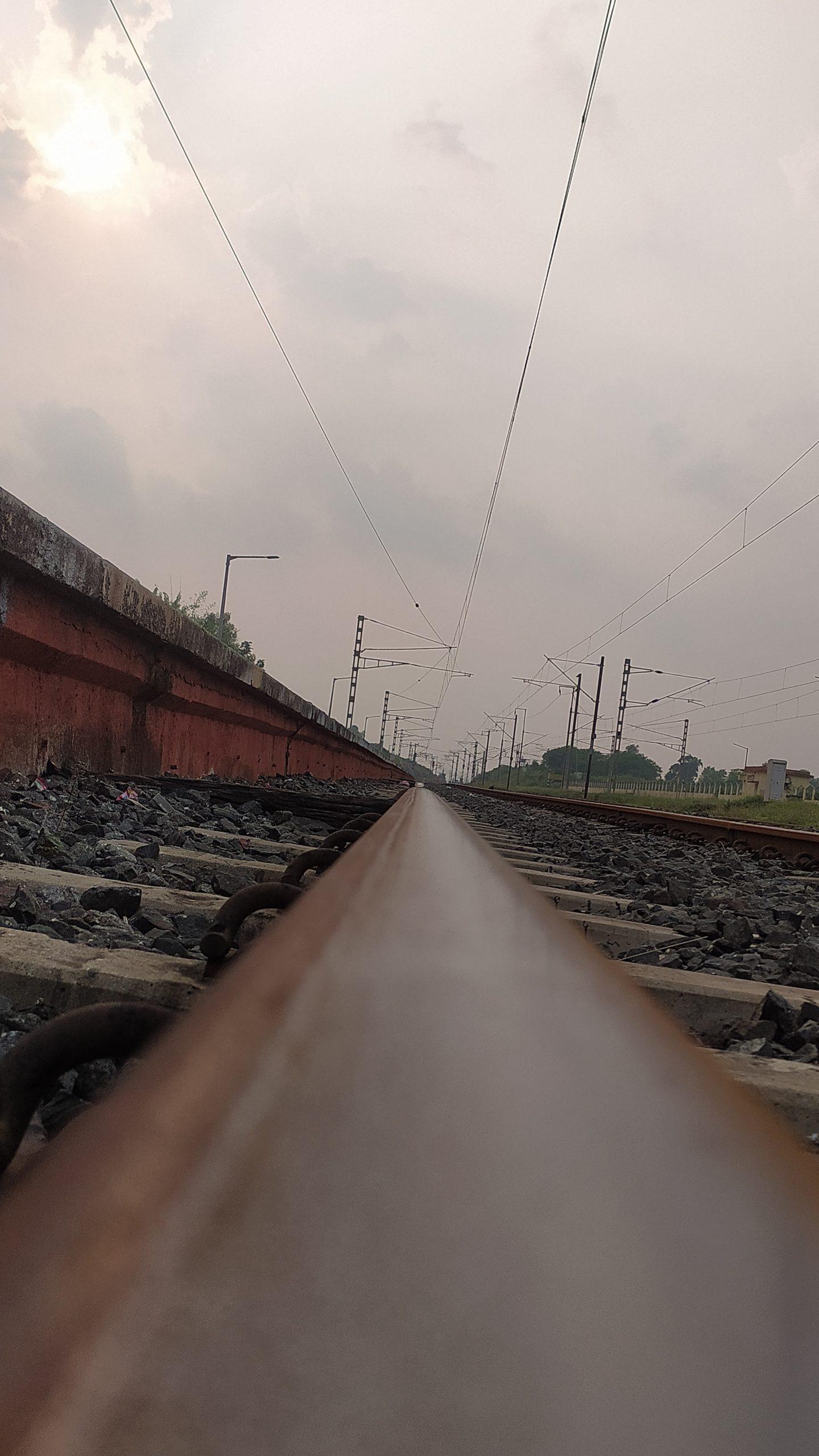 A railway track