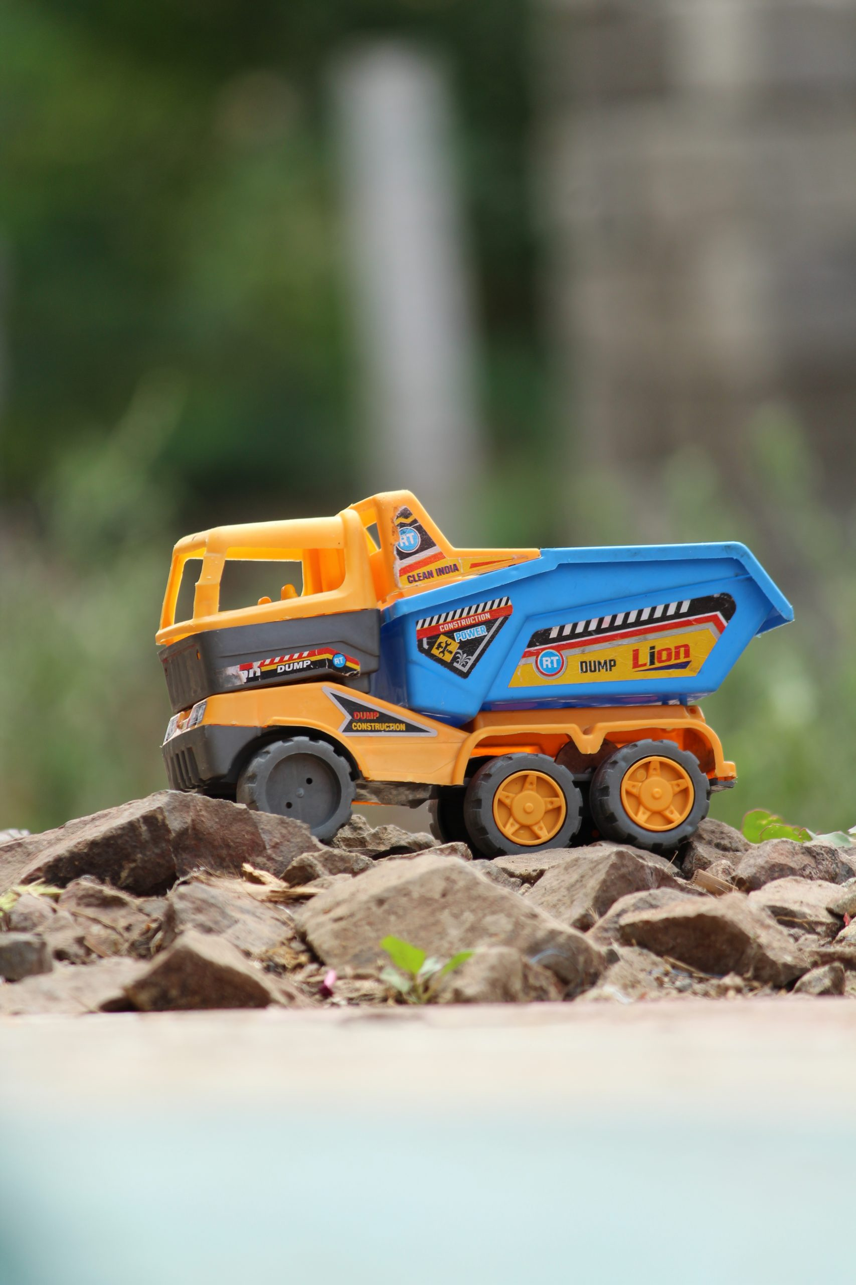 A toy truck