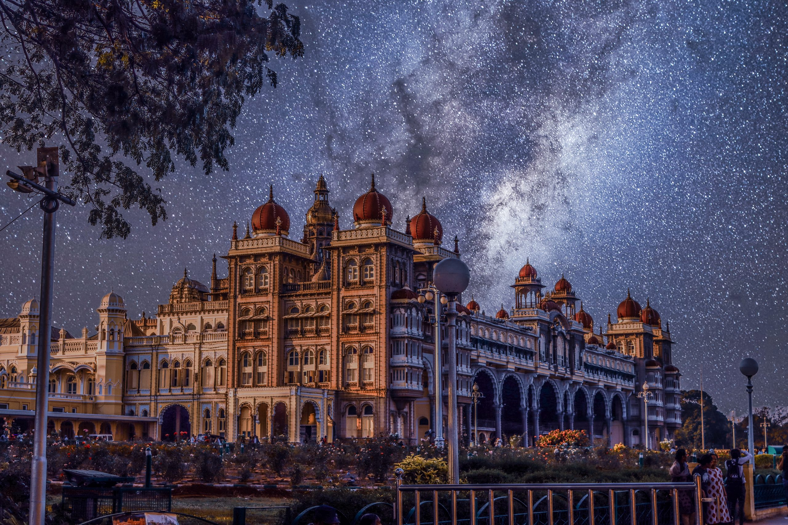 A view of Mysore Palace