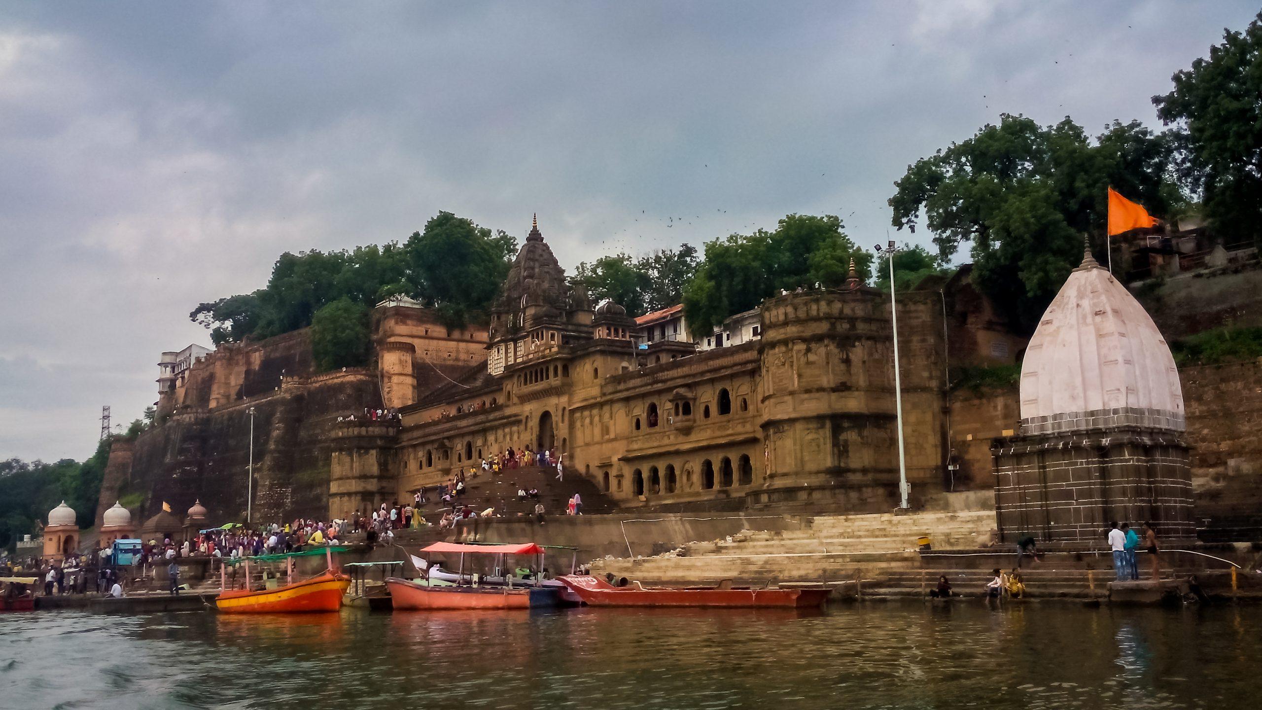 Ahilyawada Maheshwar temple