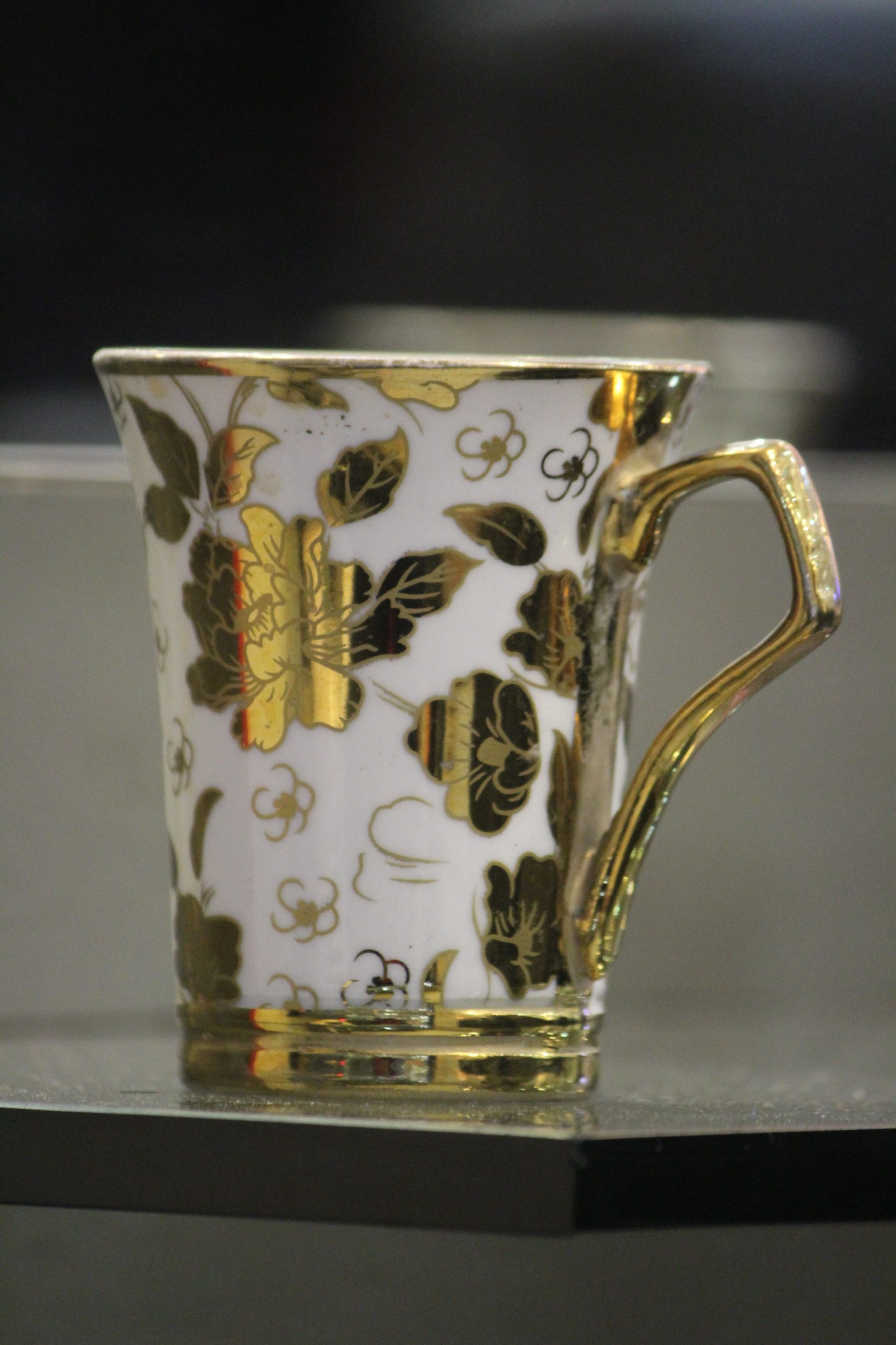 A floral cup