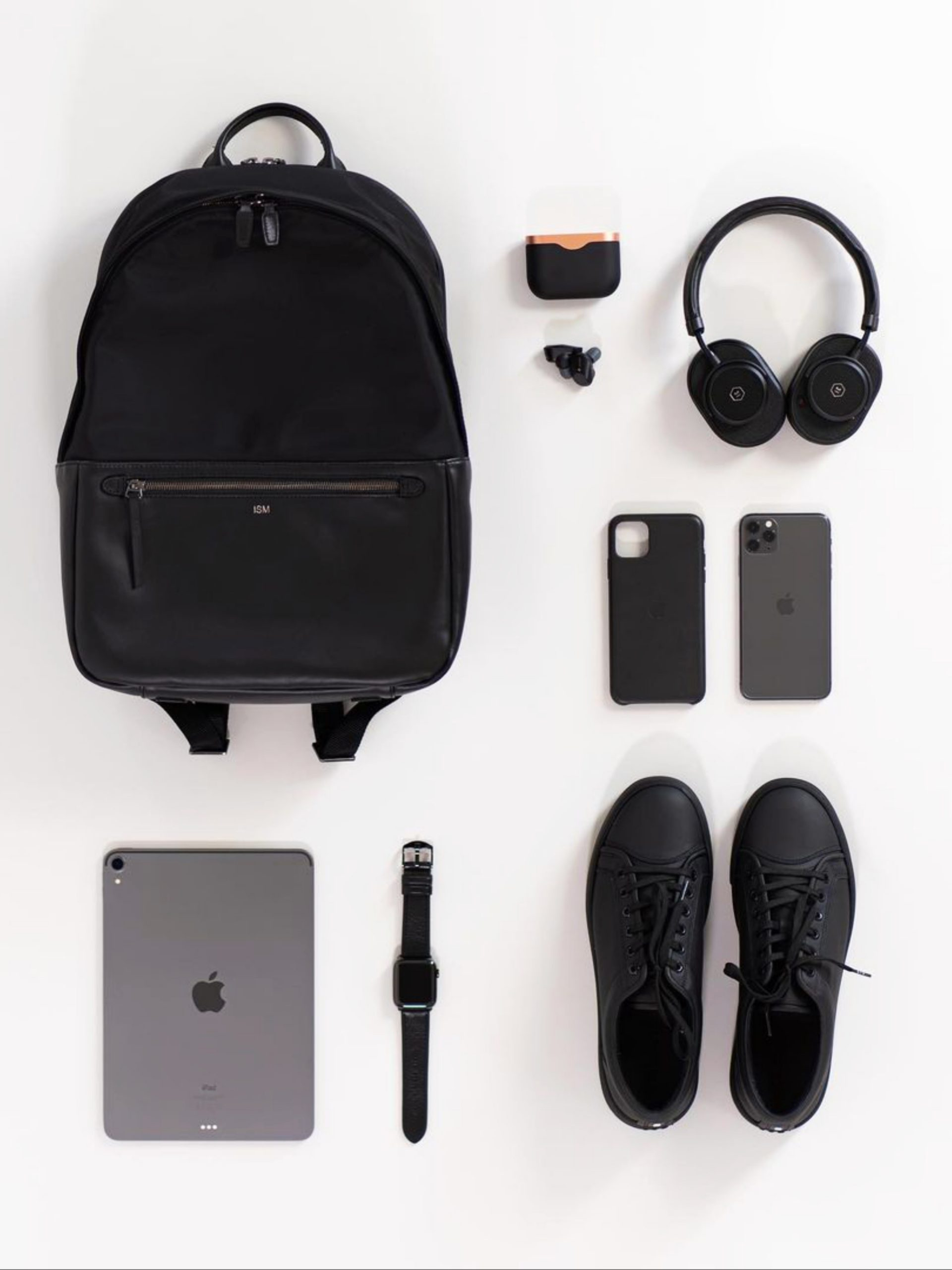 Bag, shoes and electronic items
