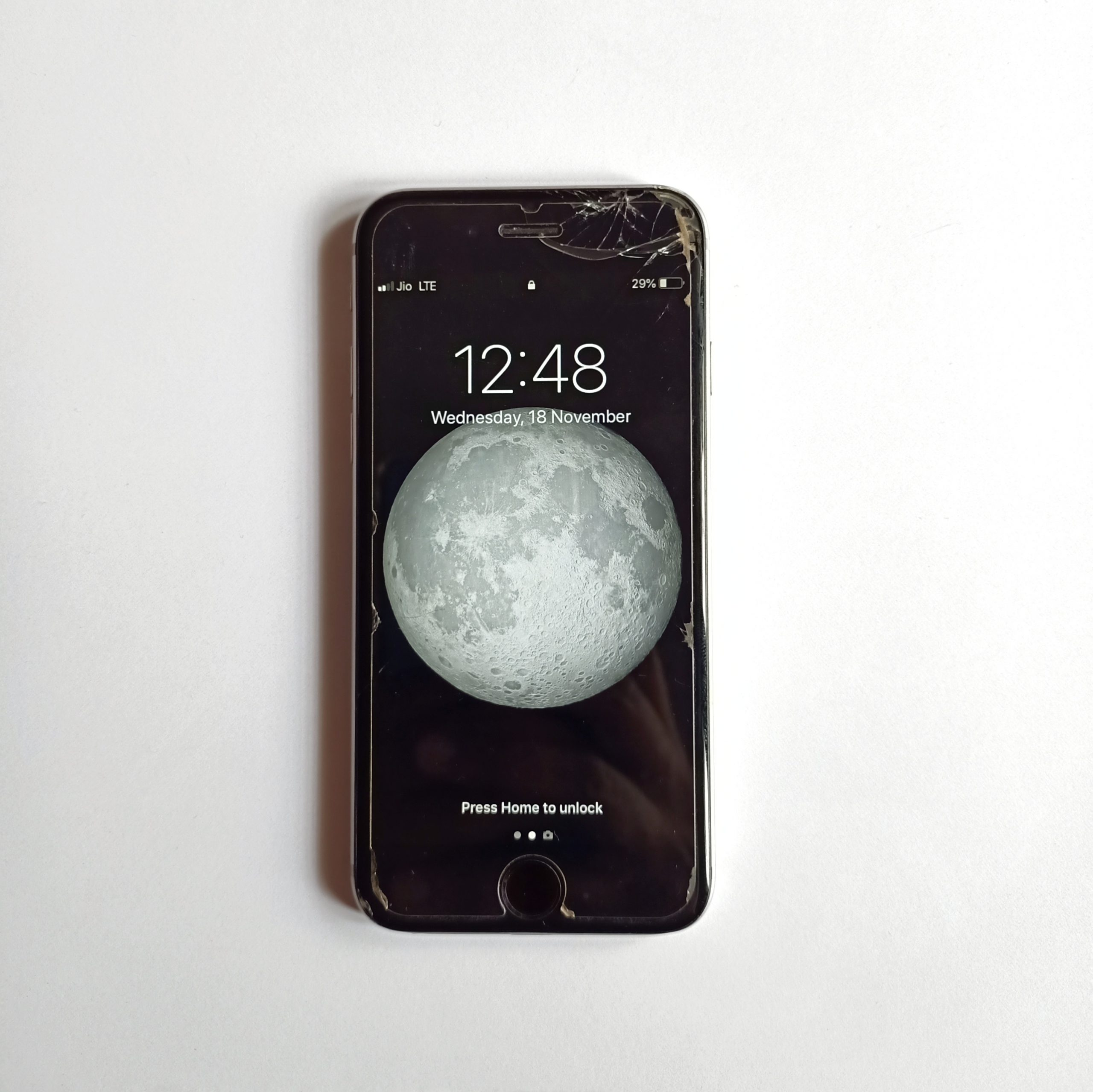 An old Apple iPhone 6