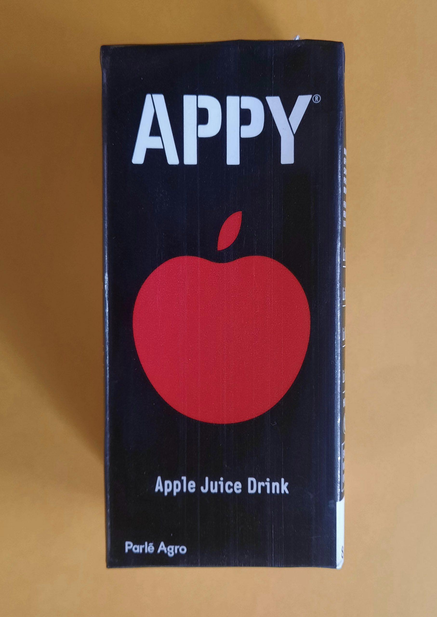 apple juice carton