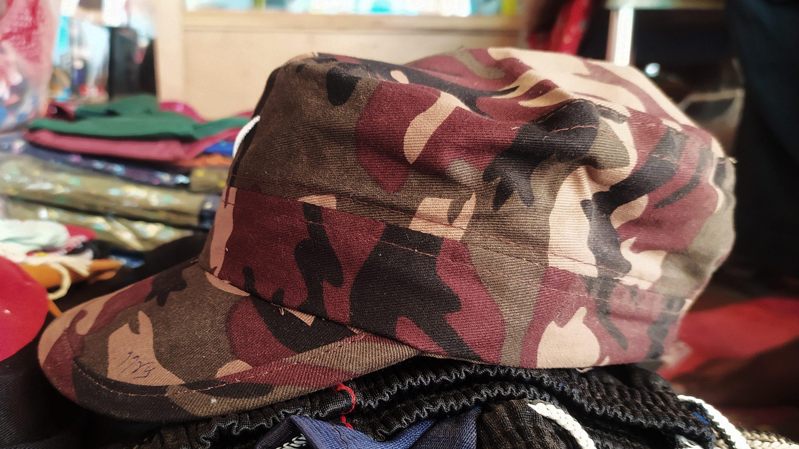 soldier cap