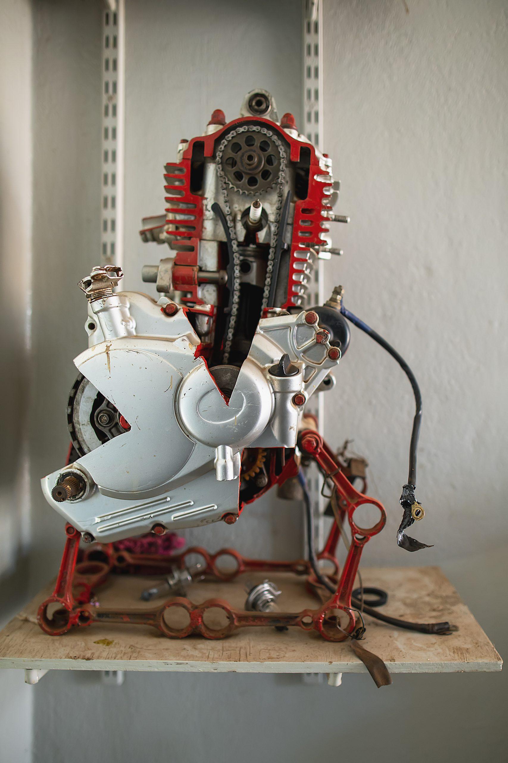 A bike engine