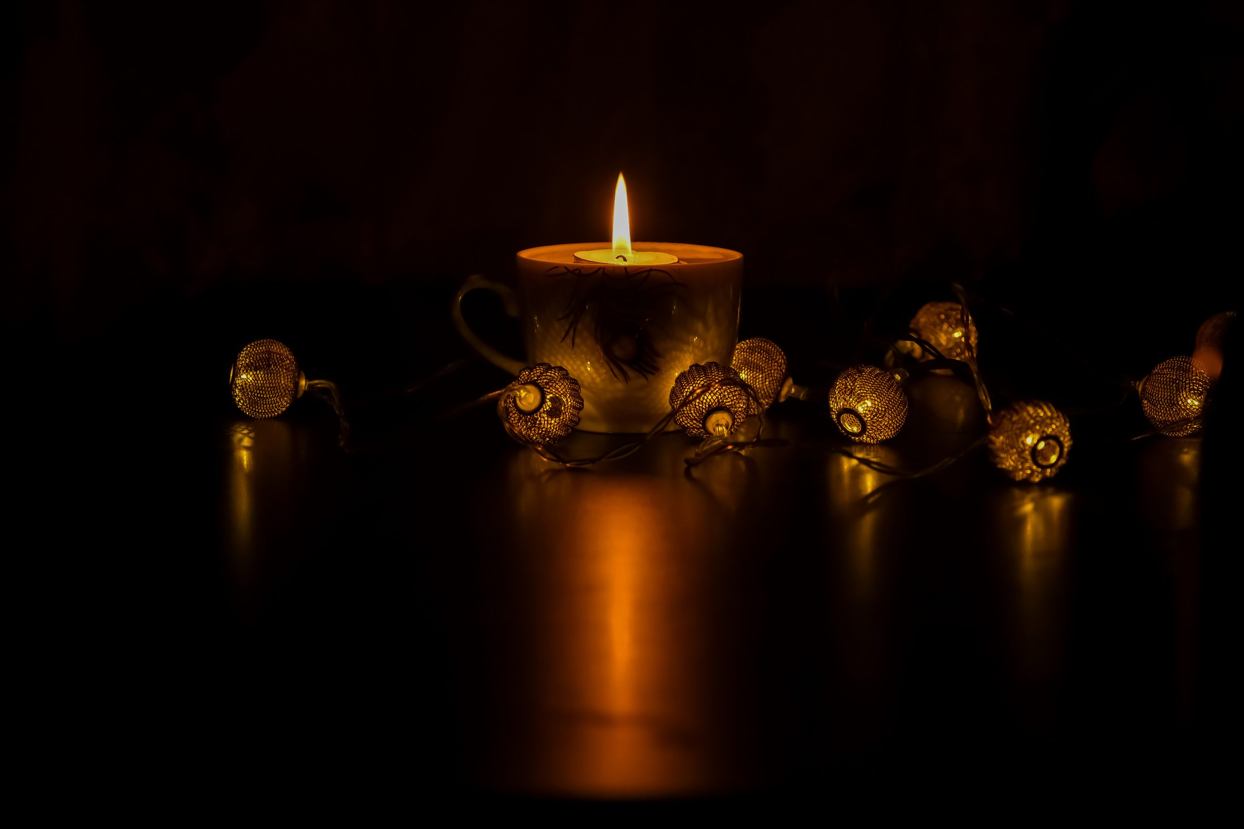 Candle and Lights